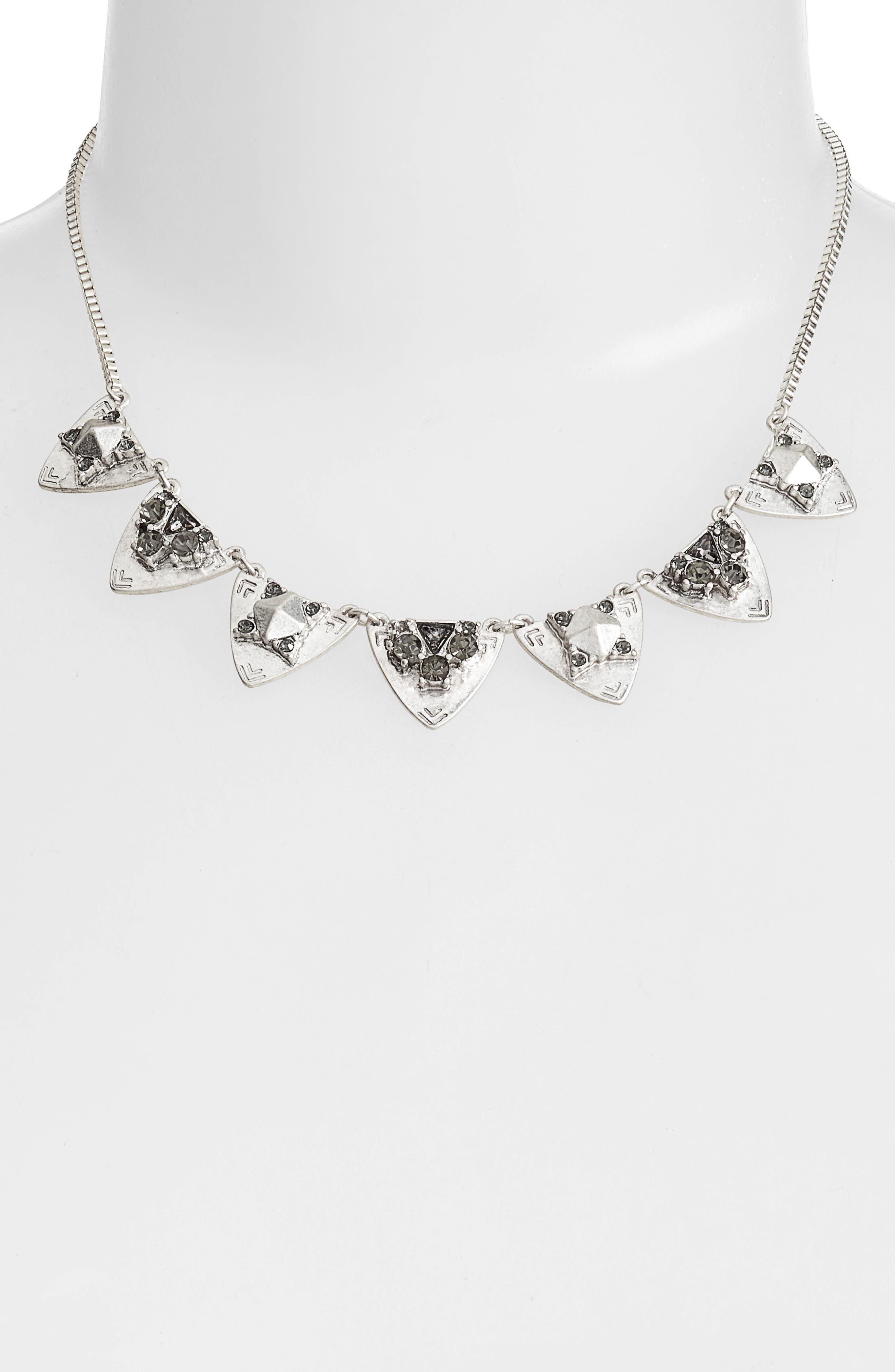 Alternate Image 2  - Treasure & Bond Frontal Crystal Necklace