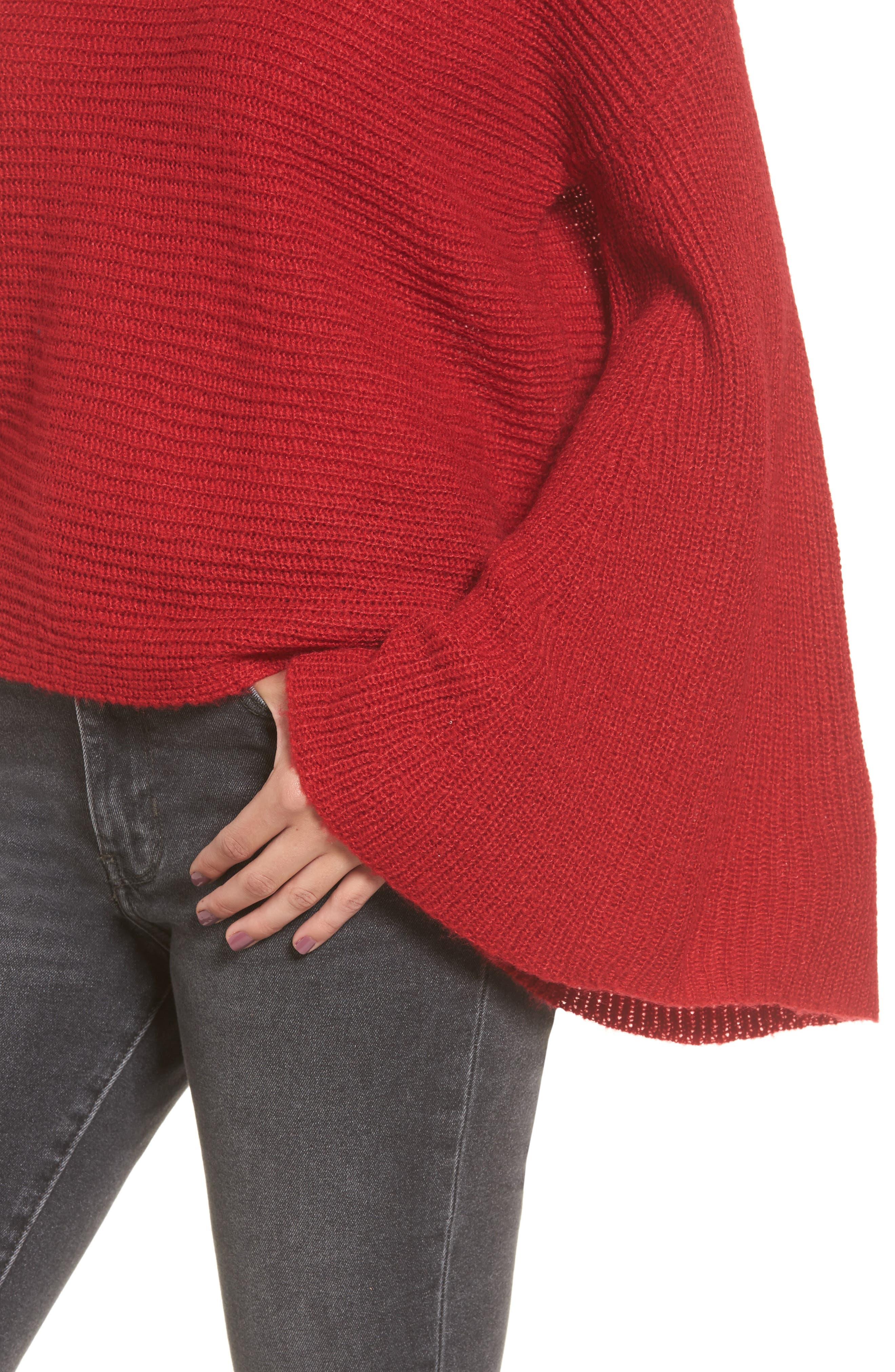 Alternate Image 5  - BP. Flare Sleeve Sweater