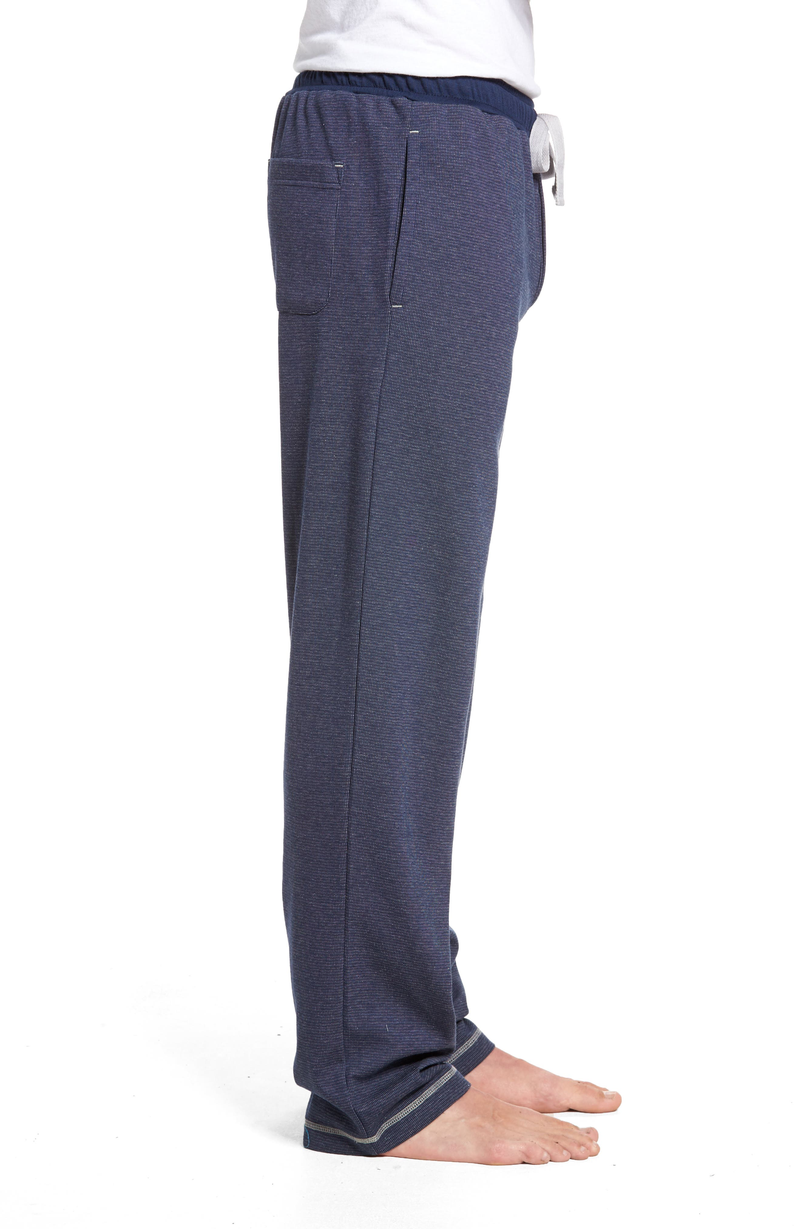 Lodge Layers Lounge Pants,                             Alternate thumbnail 3, color,                             Navy