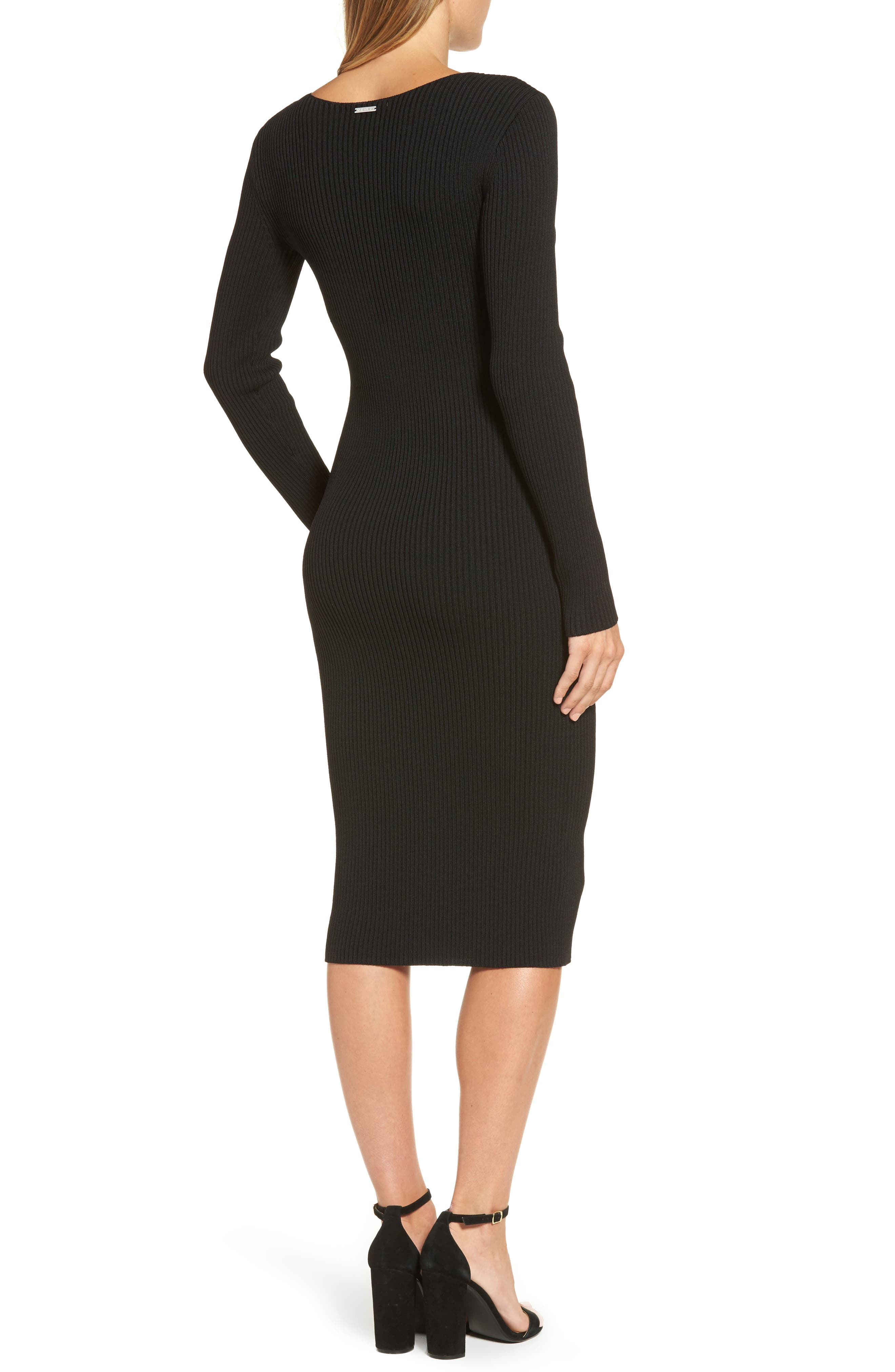 Alternate Image 2  - MICHAEL Michael Kors Ribbed Sweater Dress