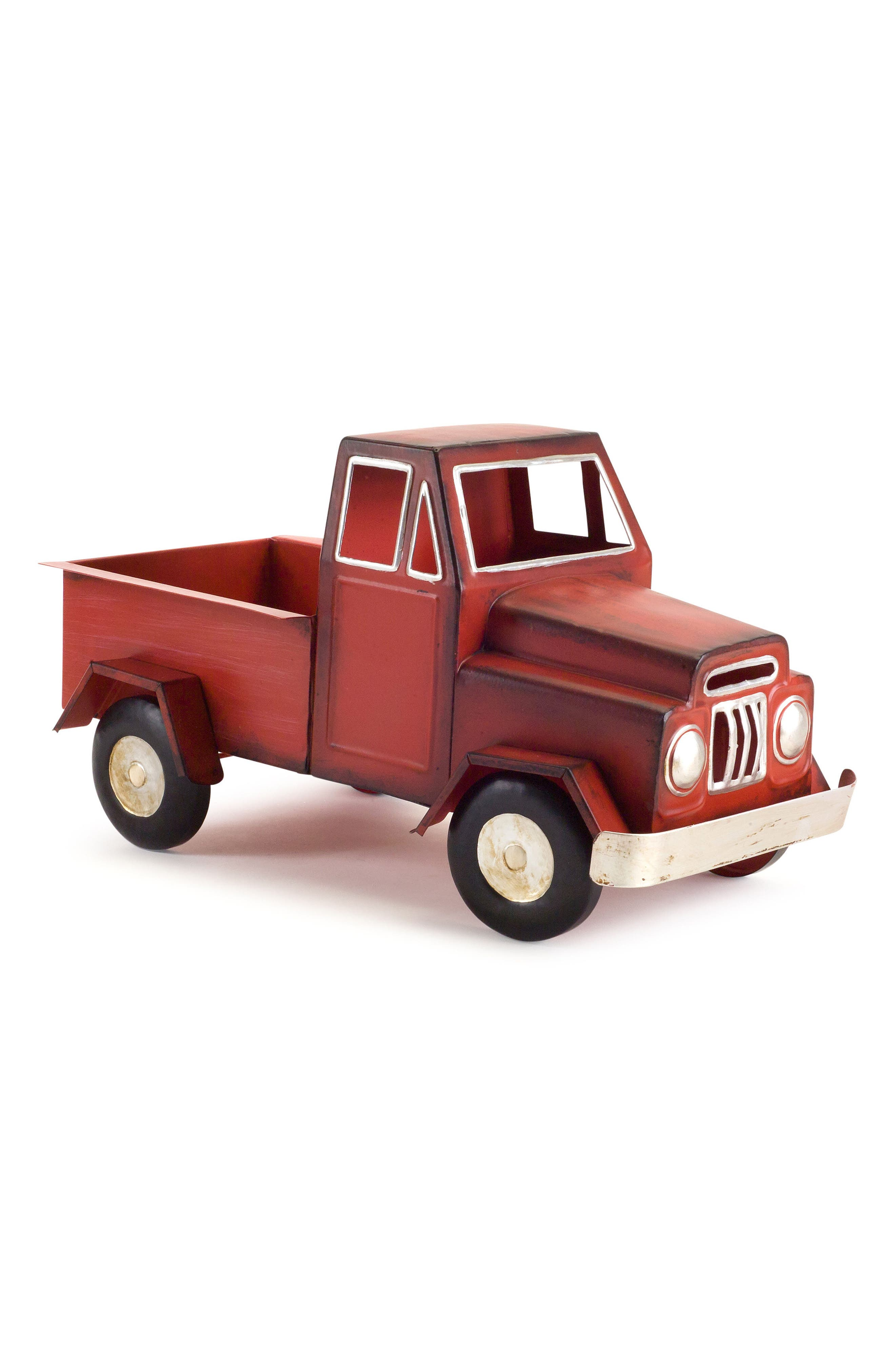 Decorative Truck,                             Main thumbnail 1, color,                             Red