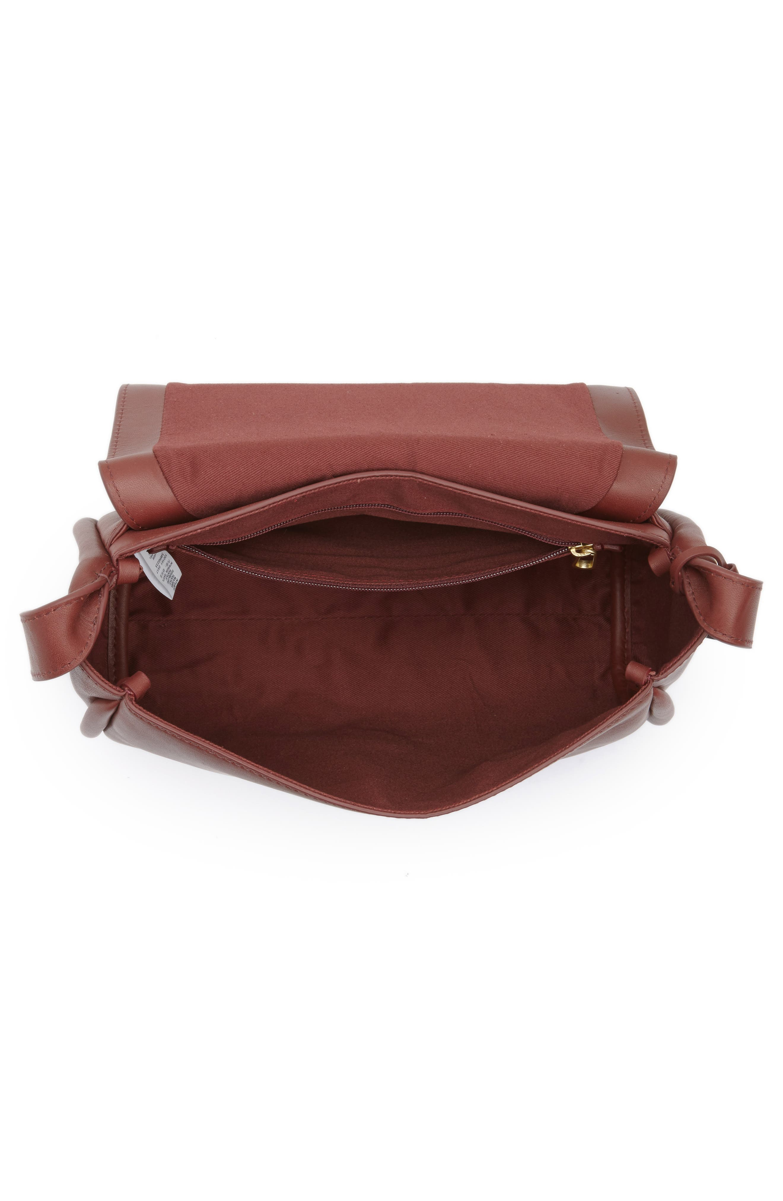 Alternate Image 3  - Skagen Sylvi Leather Crossbody Bag