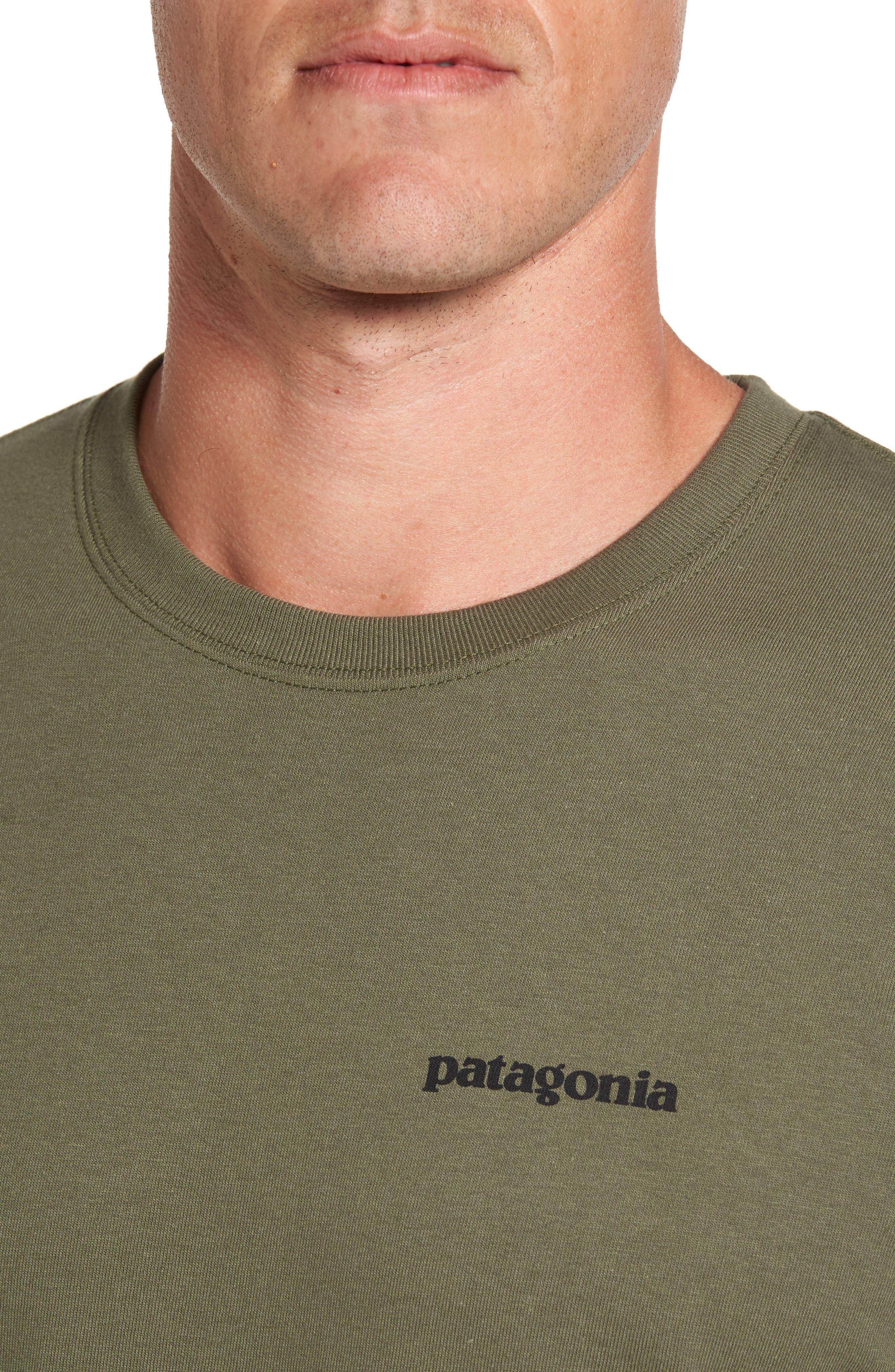 Alternate Image 4  - Patagonia 'P-6 Logo' Organic Cotton T-Shirt