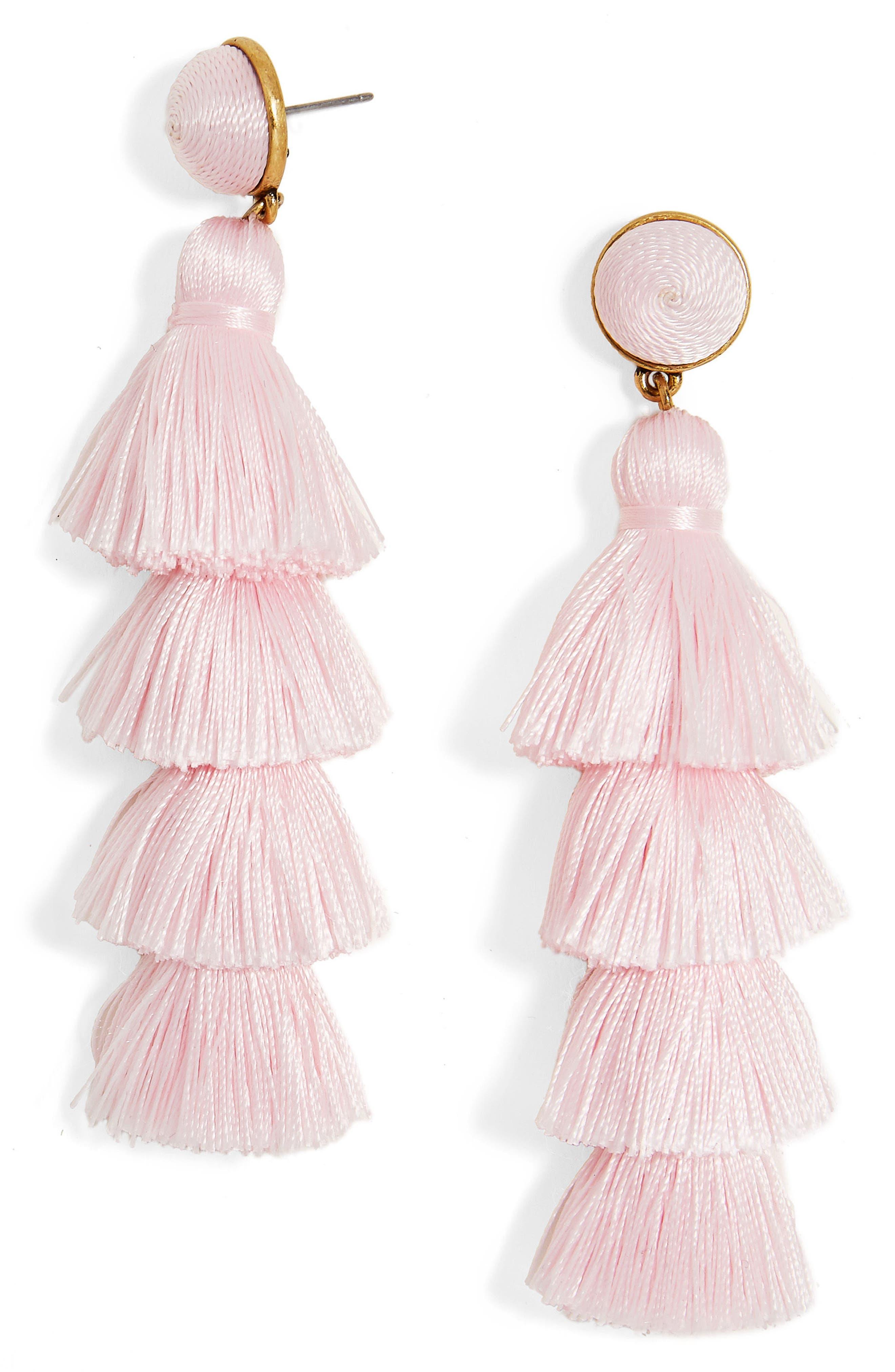 Drop earrings for women nordstrom baublebar gabriela tassel fringe earrings arubaitofo Image collections
