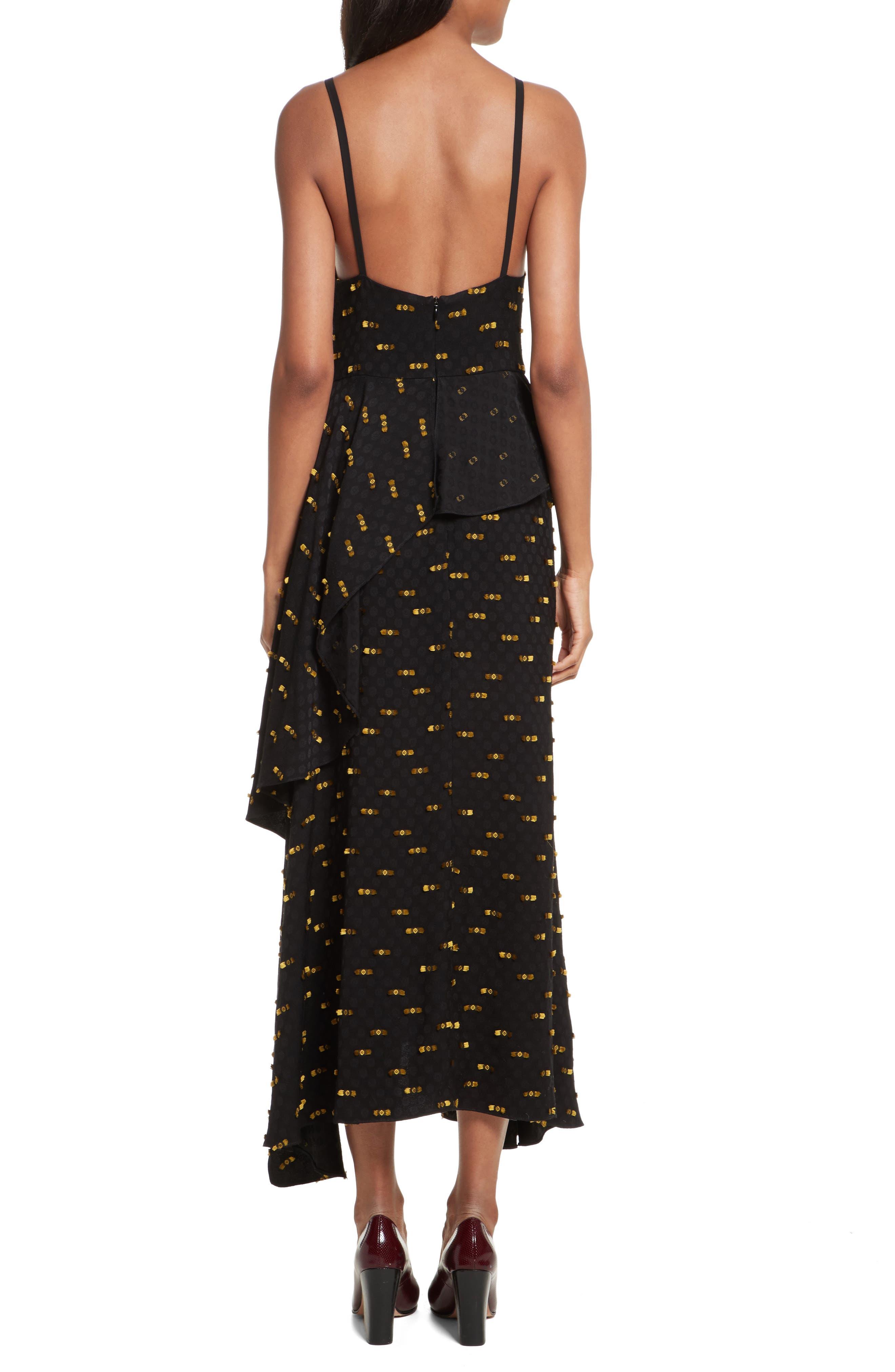 Catch Crepe Maxi Dress,                             Alternate thumbnail 2, color,                             Black