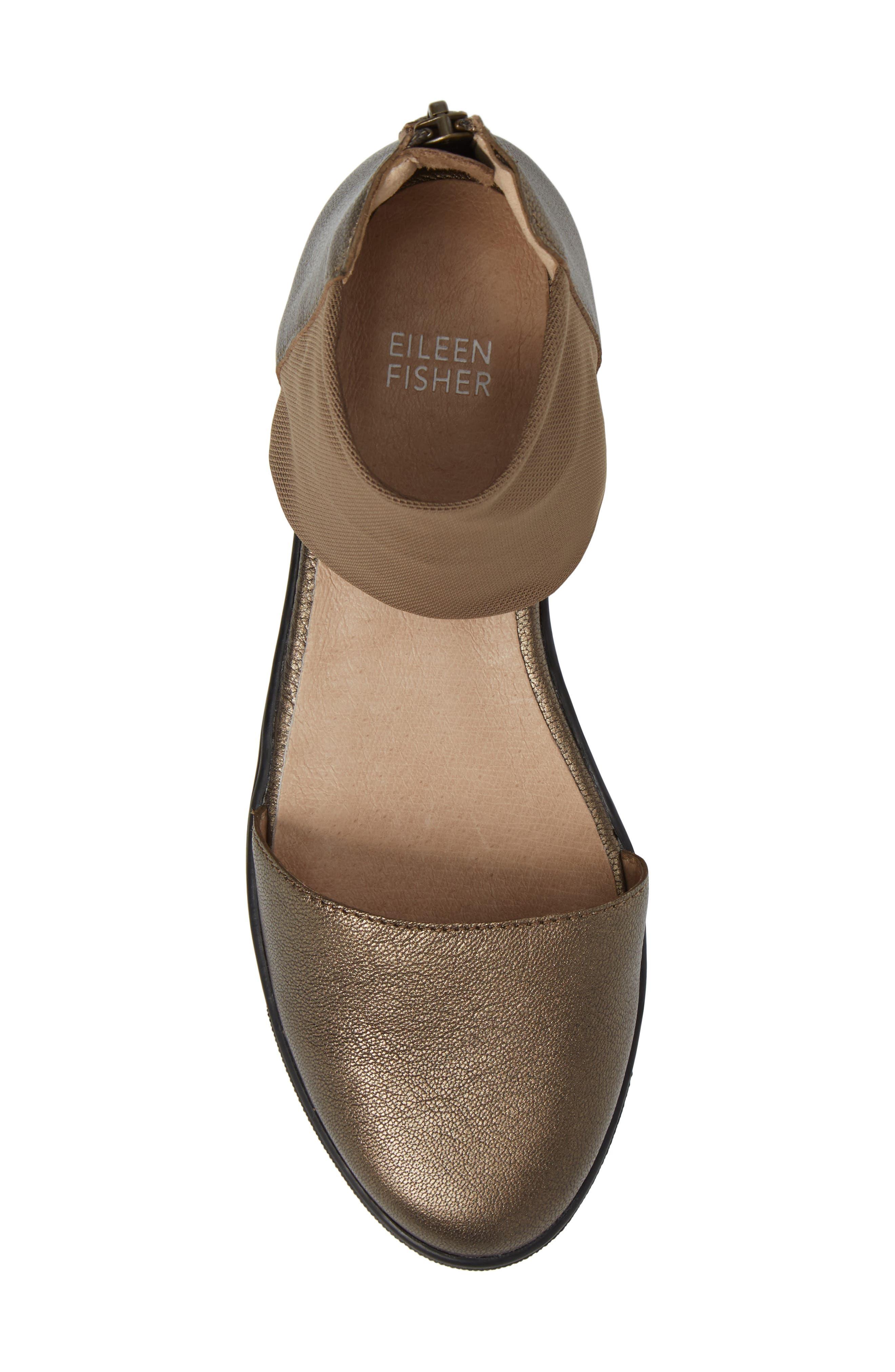 Alternate Image 5  - Eileen Fisher Powell Ankle Cuff Sandal(Women)