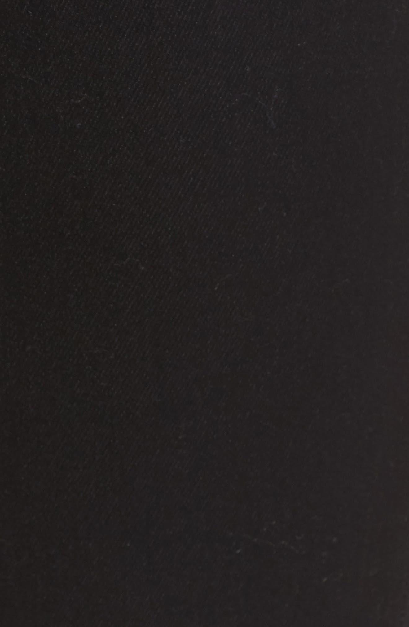 Halle Super Skinny Jeans,                             Alternate thumbnail 5, color,                             Way Back Black