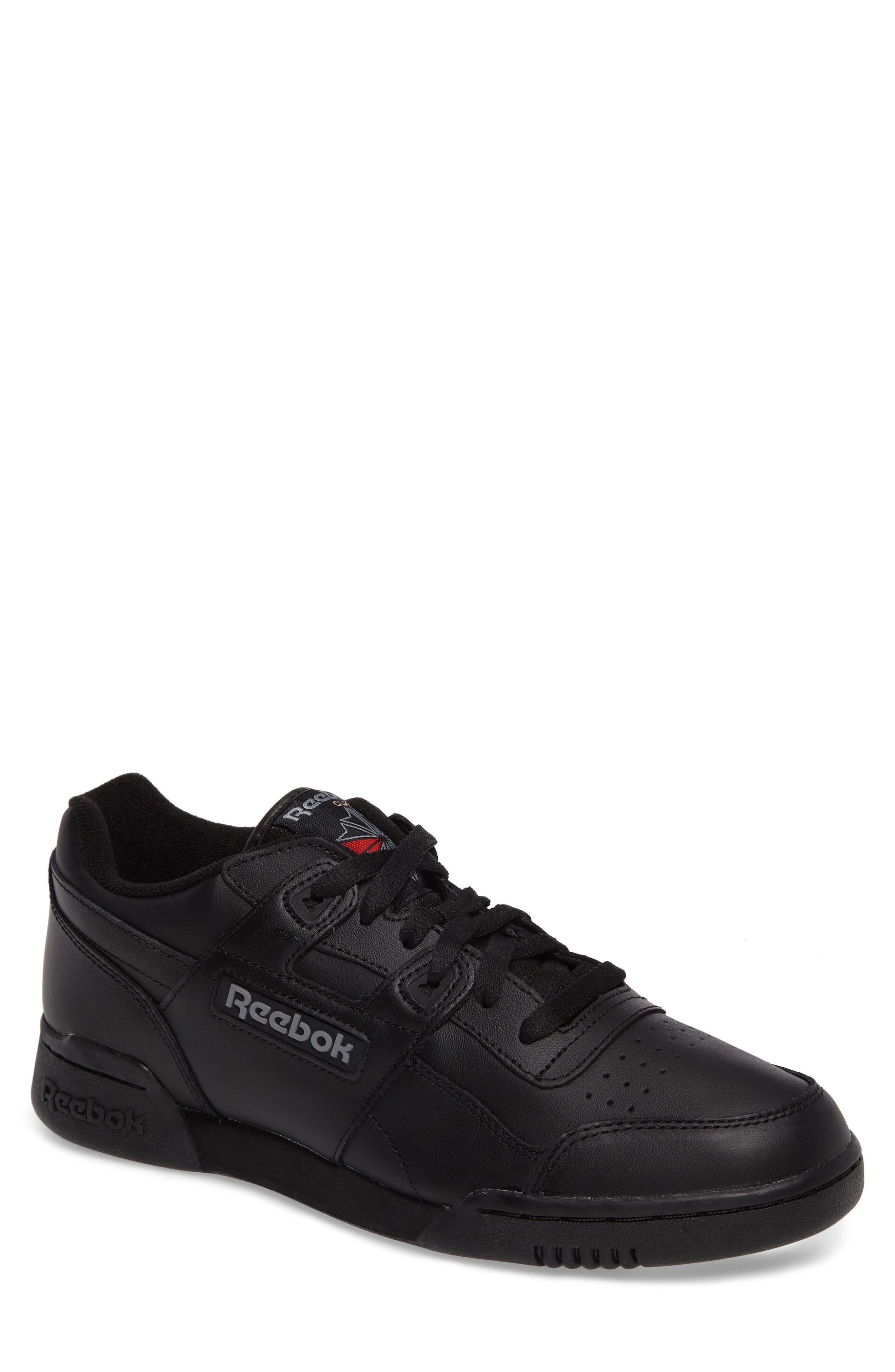 Workout Plus Sneaker,                             Main thumbnail 1, color,                             Black/ Charcoal