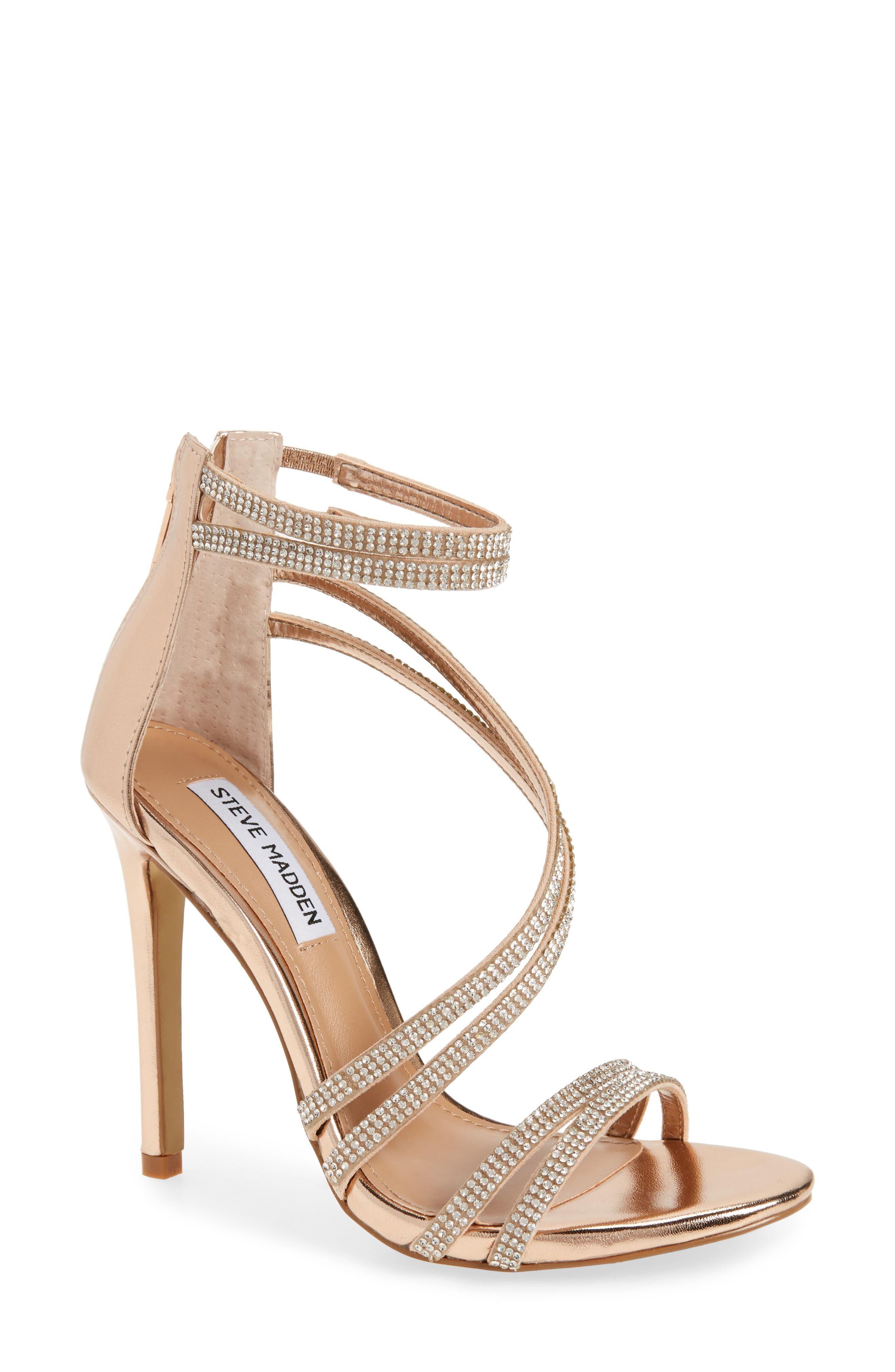 Alternate Image 1 Selected - Steve Madden Sweetest Embellished Sandal (Women)