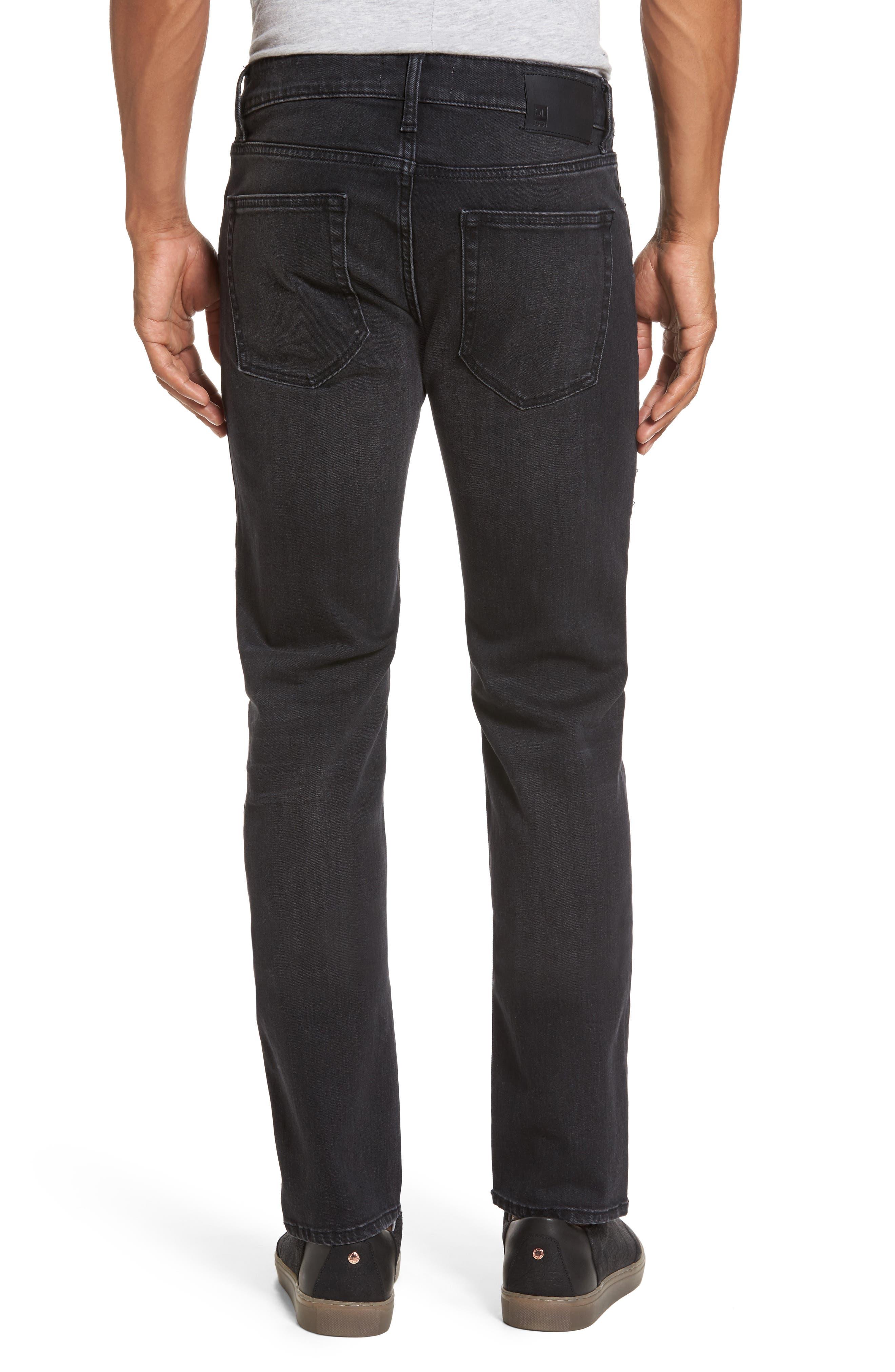 Alternate Image 2  - DL1961 Nick Slim Fit Jeans (Jet)