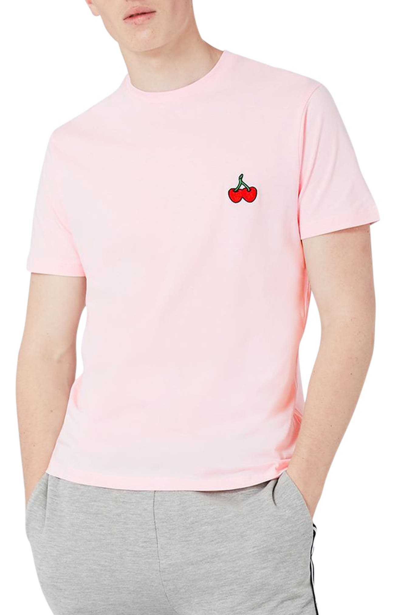 TOPMAN Cherry Patch T-Shirt
