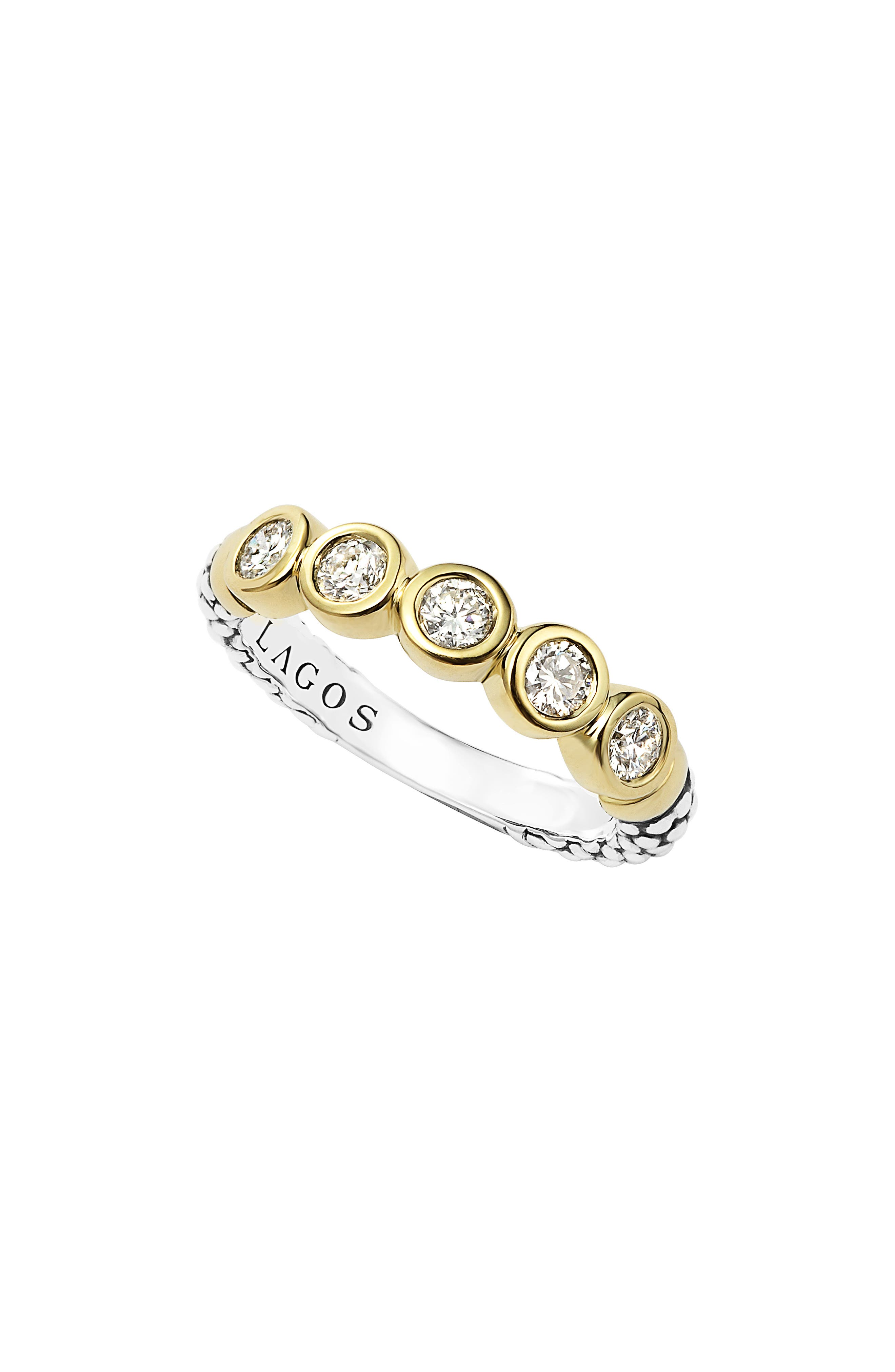 LAGOS Diamond Stacking Ring