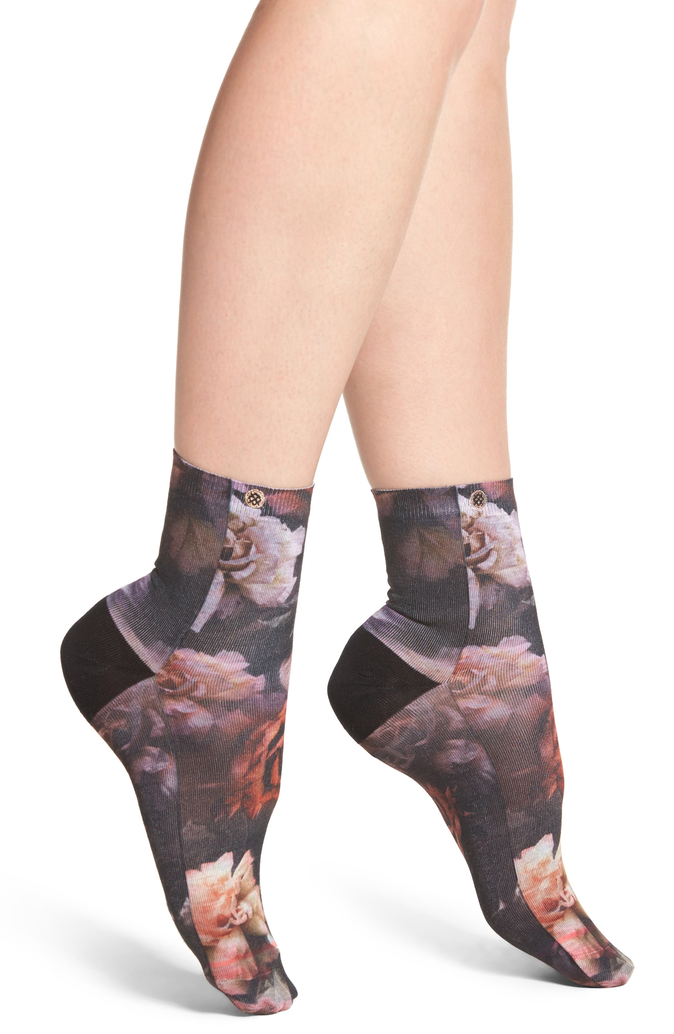 Stance Dark Blooms Anklet Socks