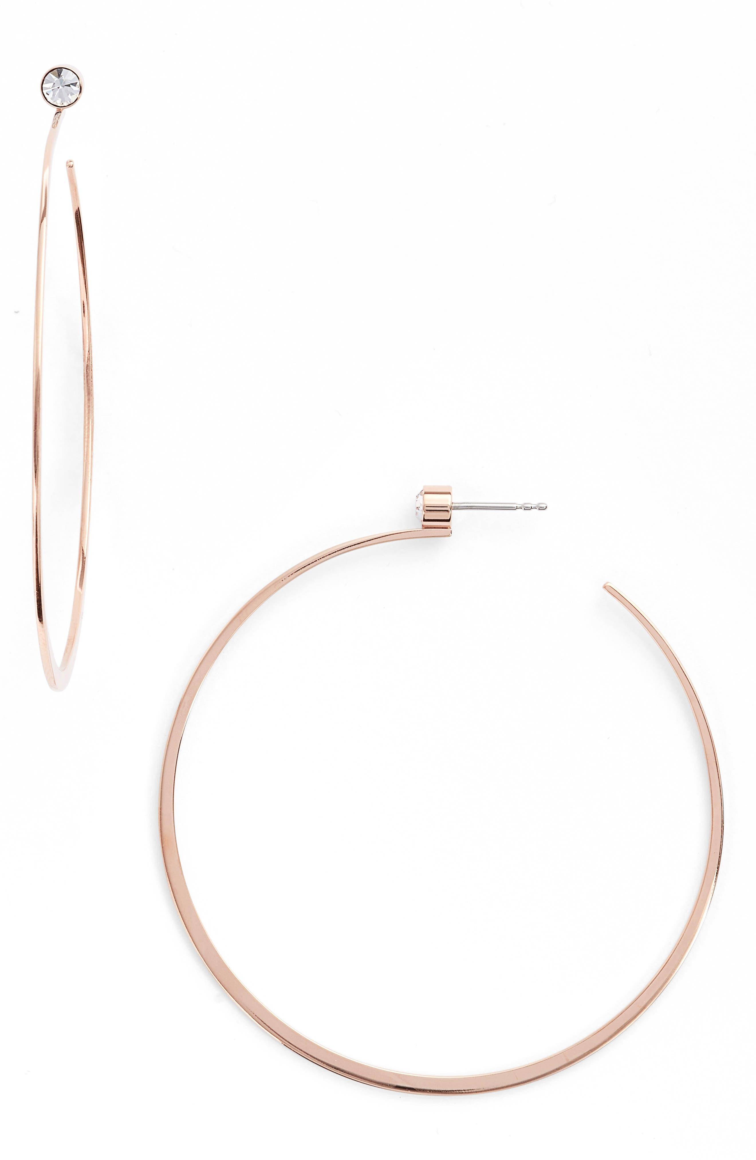 Michael Kors Large Hoop Earrings