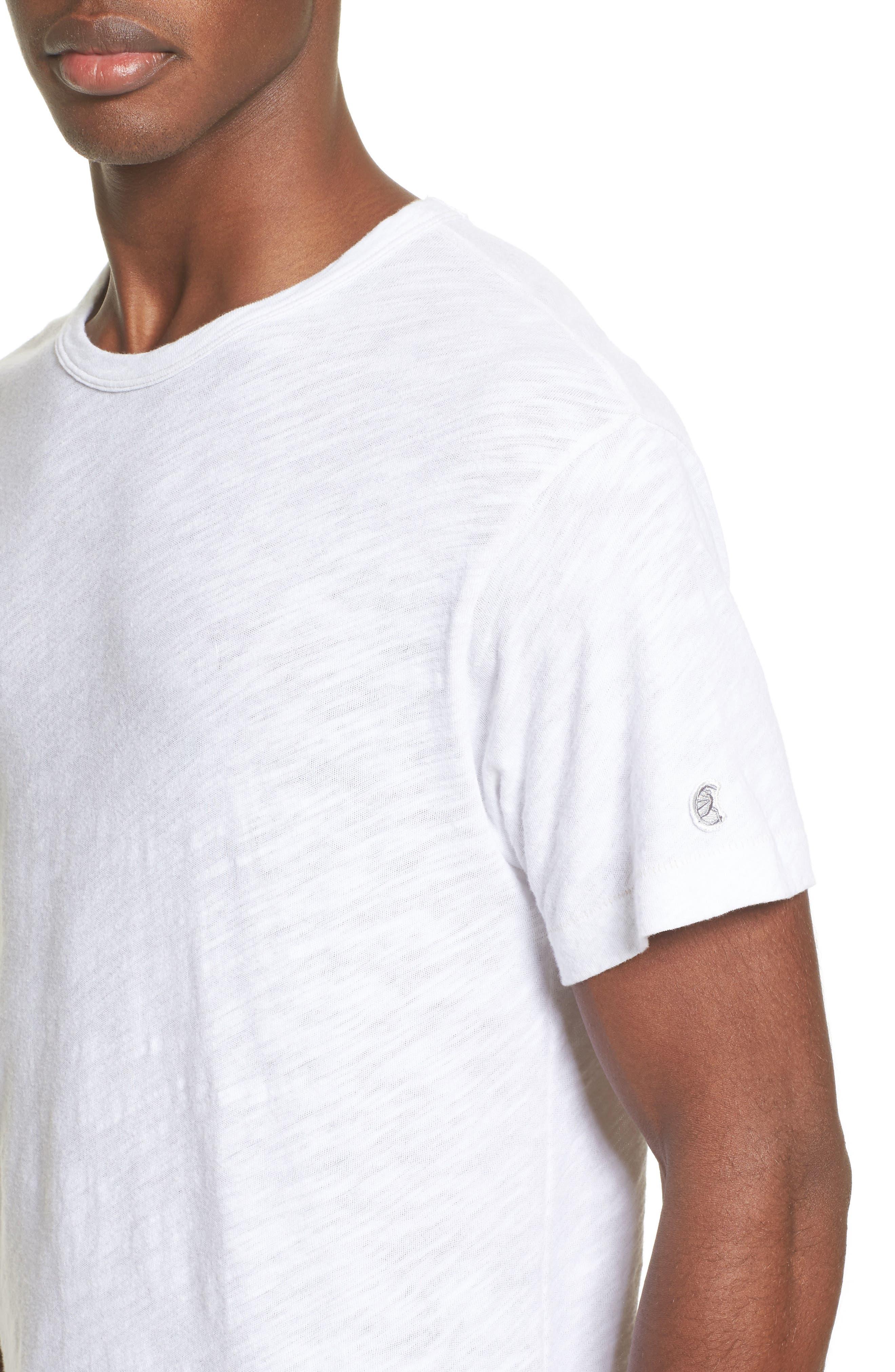 Alternate Image 4  - Todd Snyder + Champion Crewneck T-Shirt