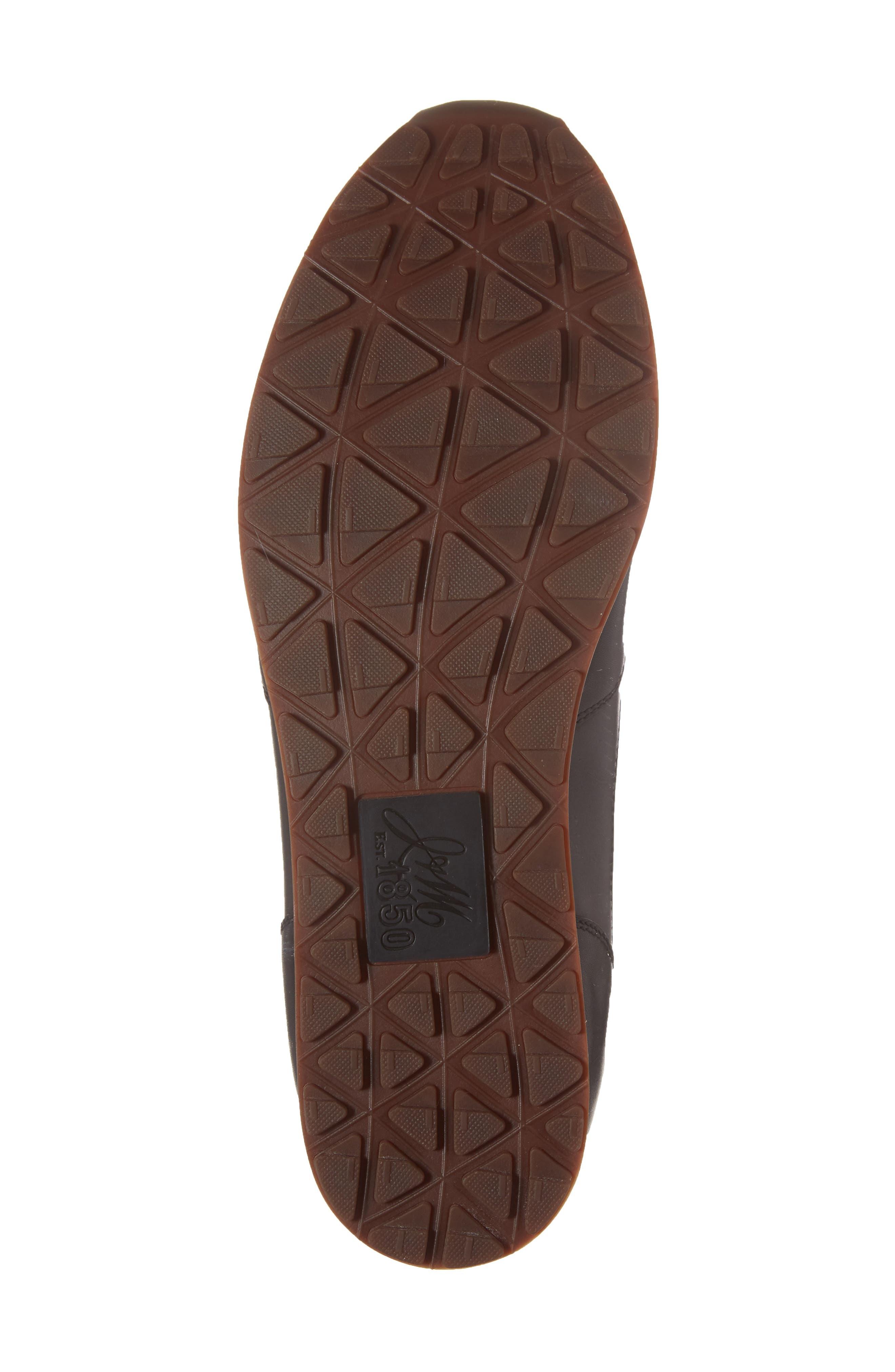 Malek Sneaker,                             Alternate thumbnail 6, color,                             Black Leather