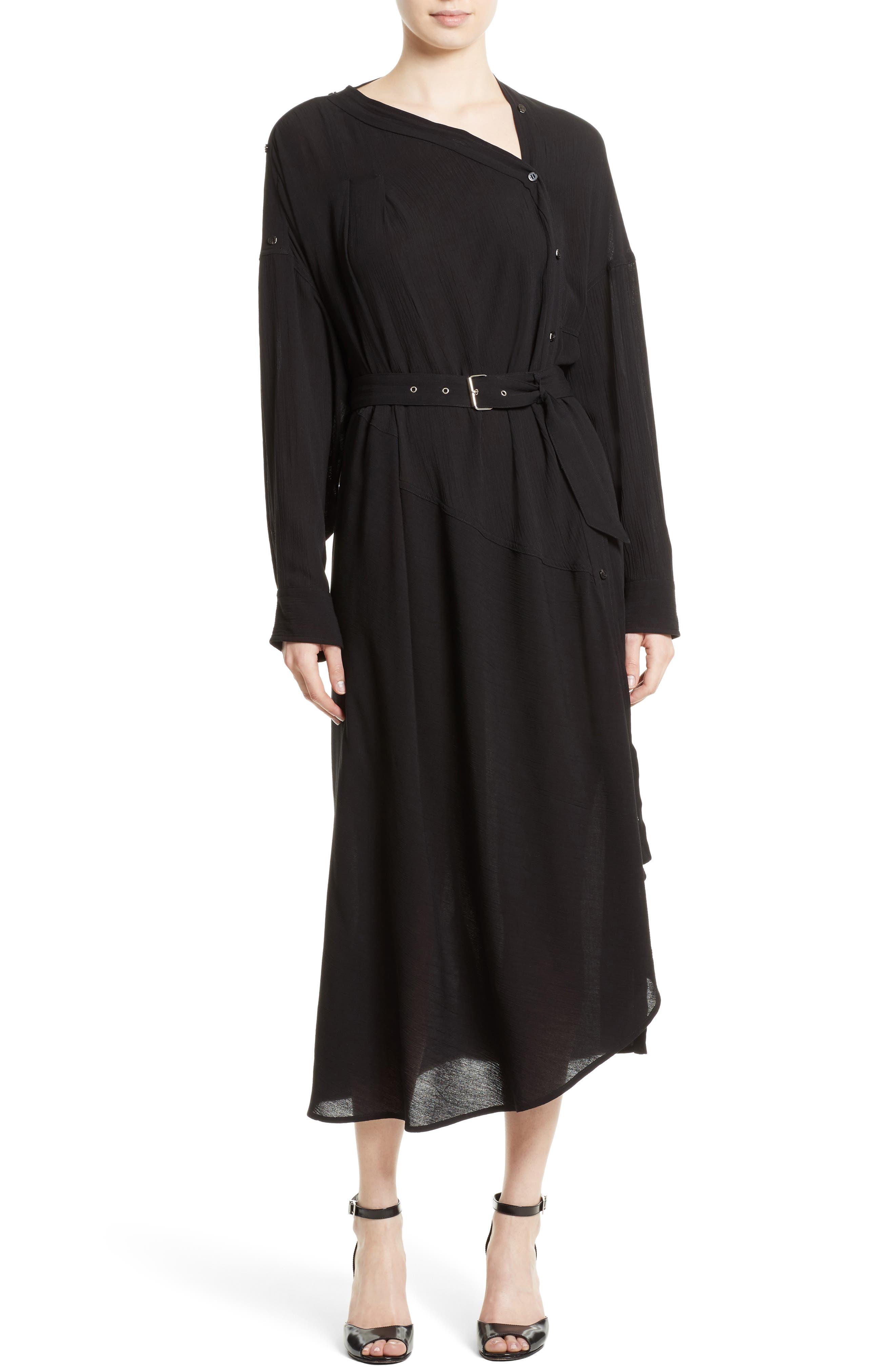 Welcome Midi Dress,                         Main,                         color, Black