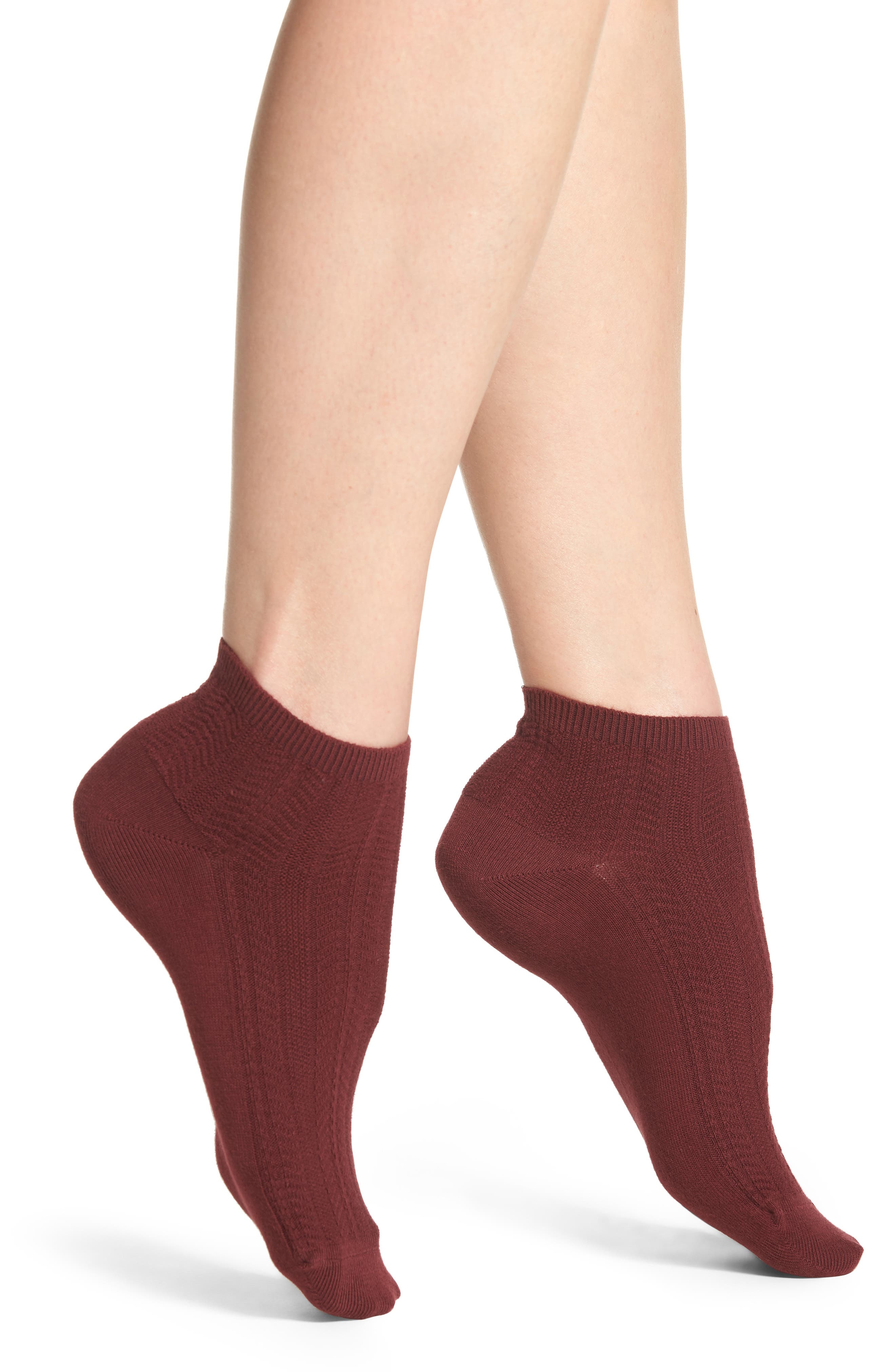 Alternate Image 1 Selected - Treasure & Bond Knit Ankle Socks