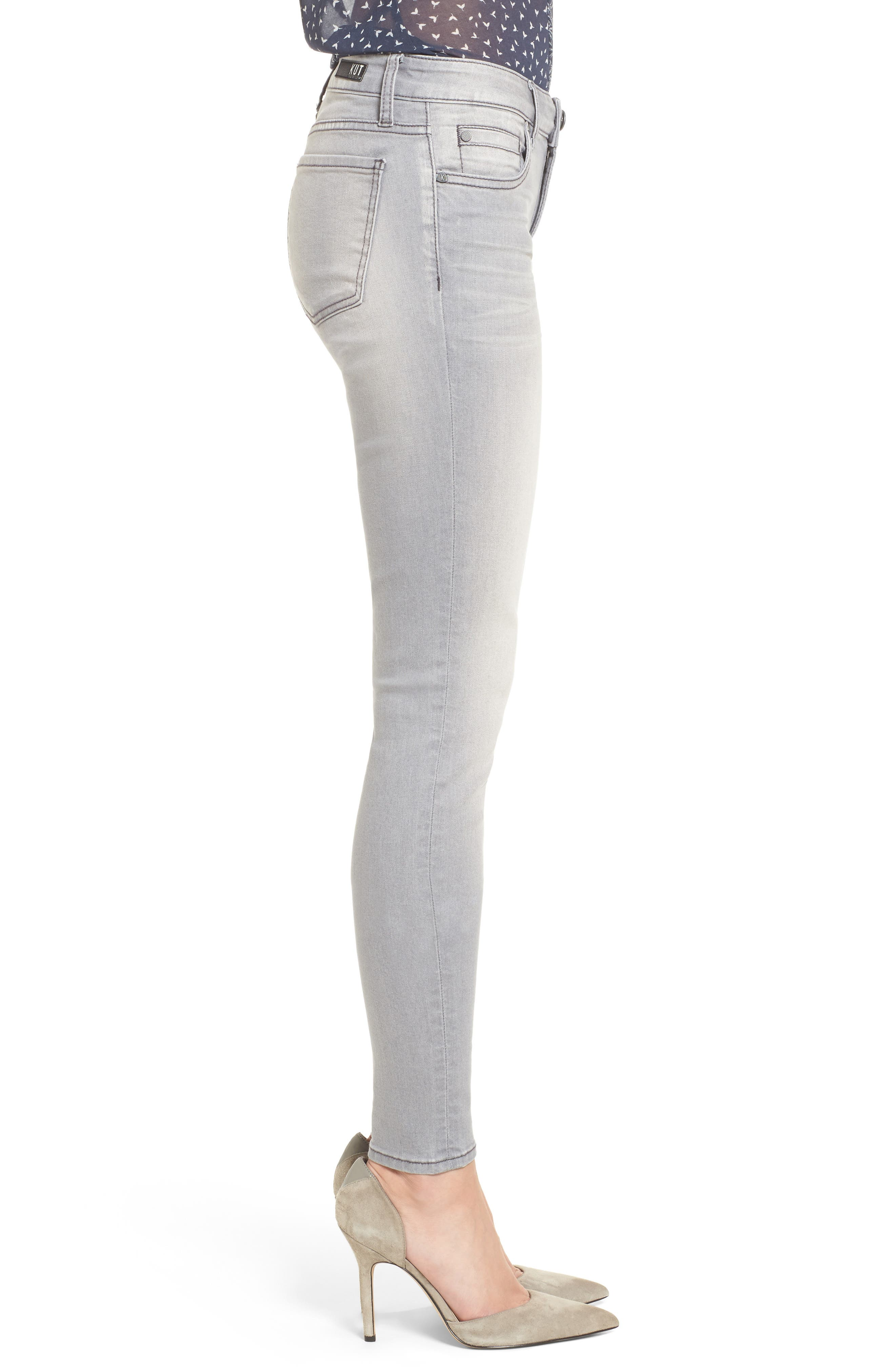 Alternate Image 3  - Kut from the Kloth Mia Skinny Jeans (Prevailed)