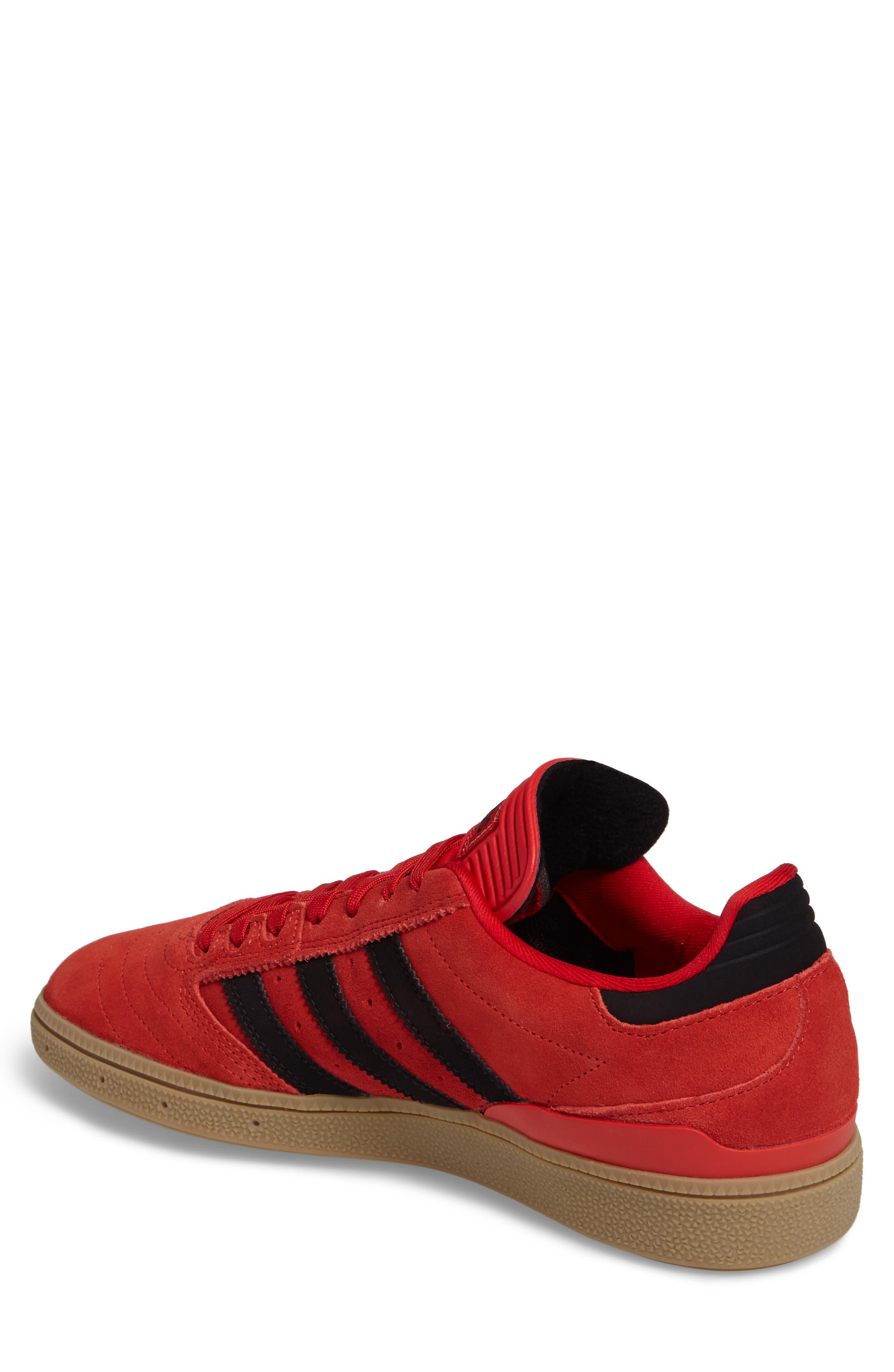 Busenitz Sneaker,                             Alternate thumbnail 2, color,                             Scarlet/ Core Black/ Gum4