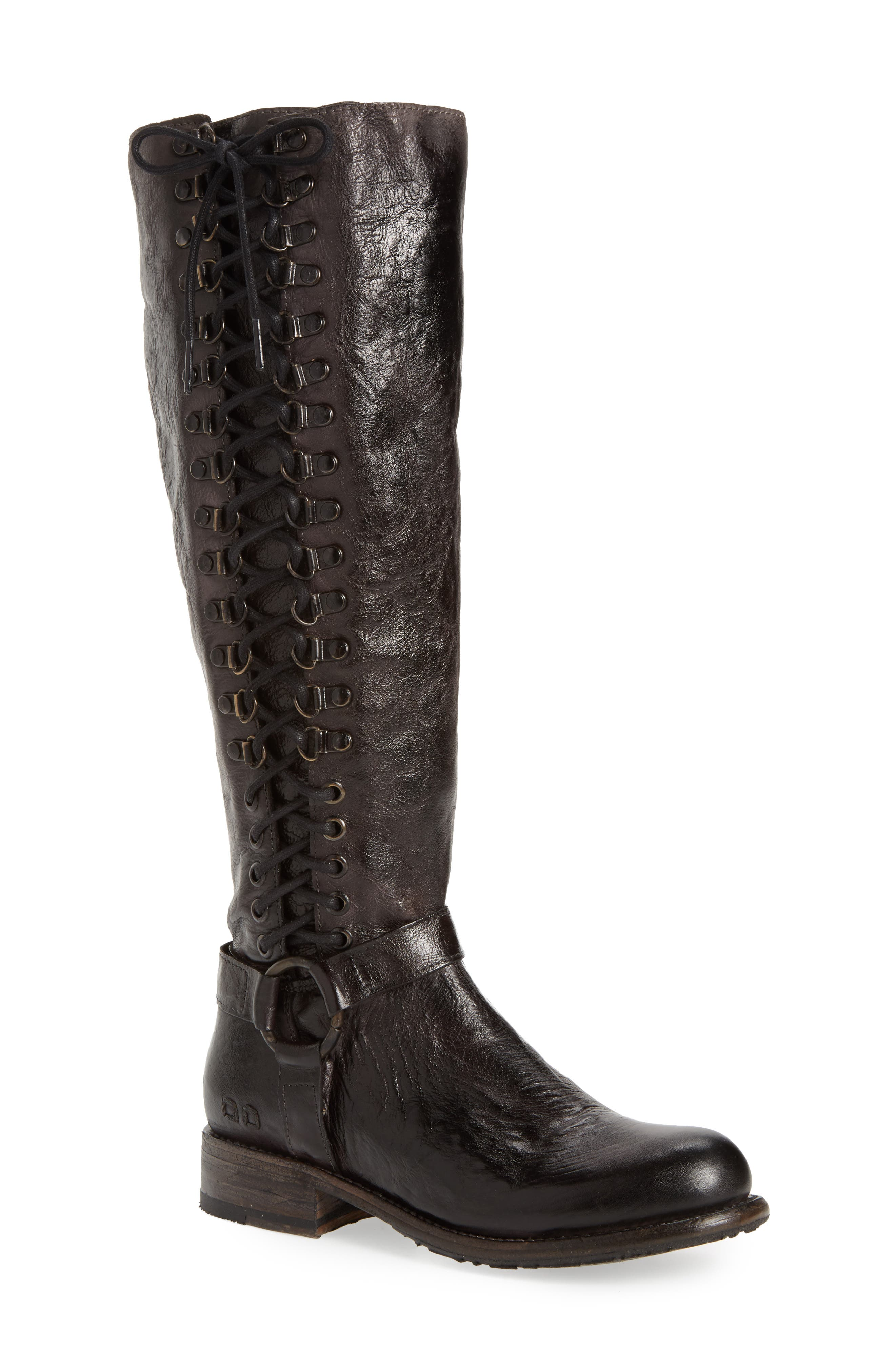Bed Stu Burnley Knee-High Corset Boot (Women)