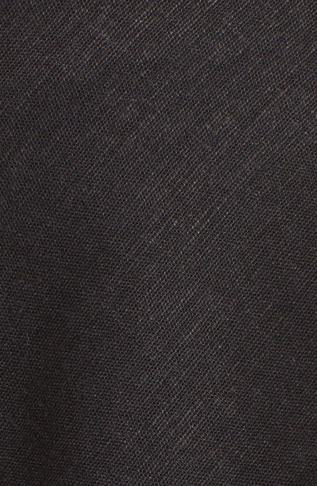 Sinatra Off the Shoulder Jumpsuit,                             Alternate thumbnail 5, color,                             Black