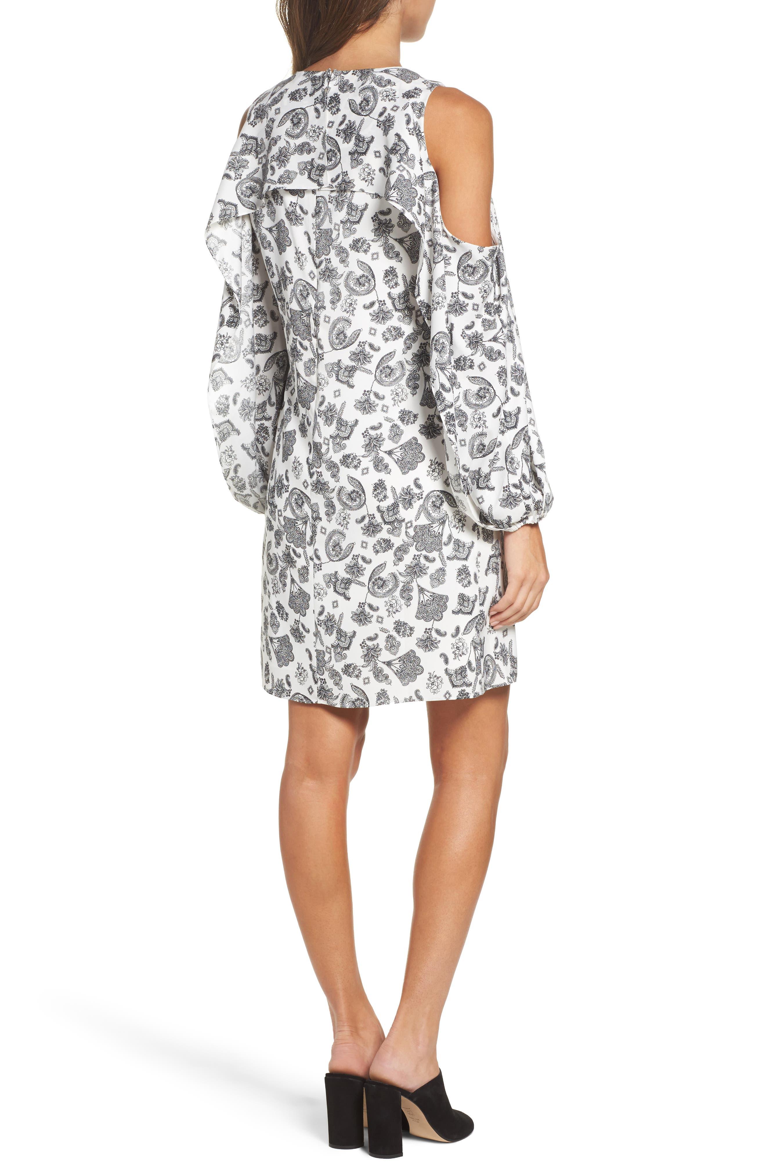 Alternate Image 2  - Kobi Halperin Amber Cold Shoulder Shift Dress (Nordstrom Exclusive)
