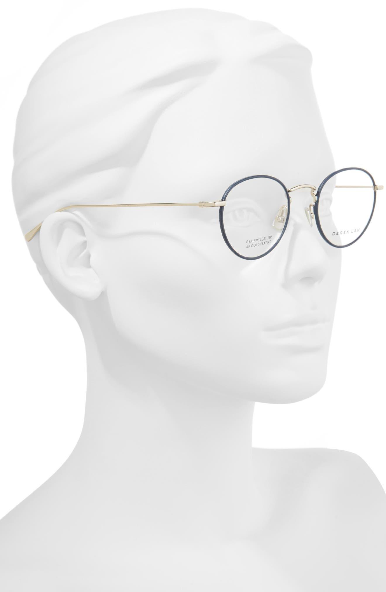 50mm Optical Glasses,                             Alternate thumbnail 3, color,                             Navy