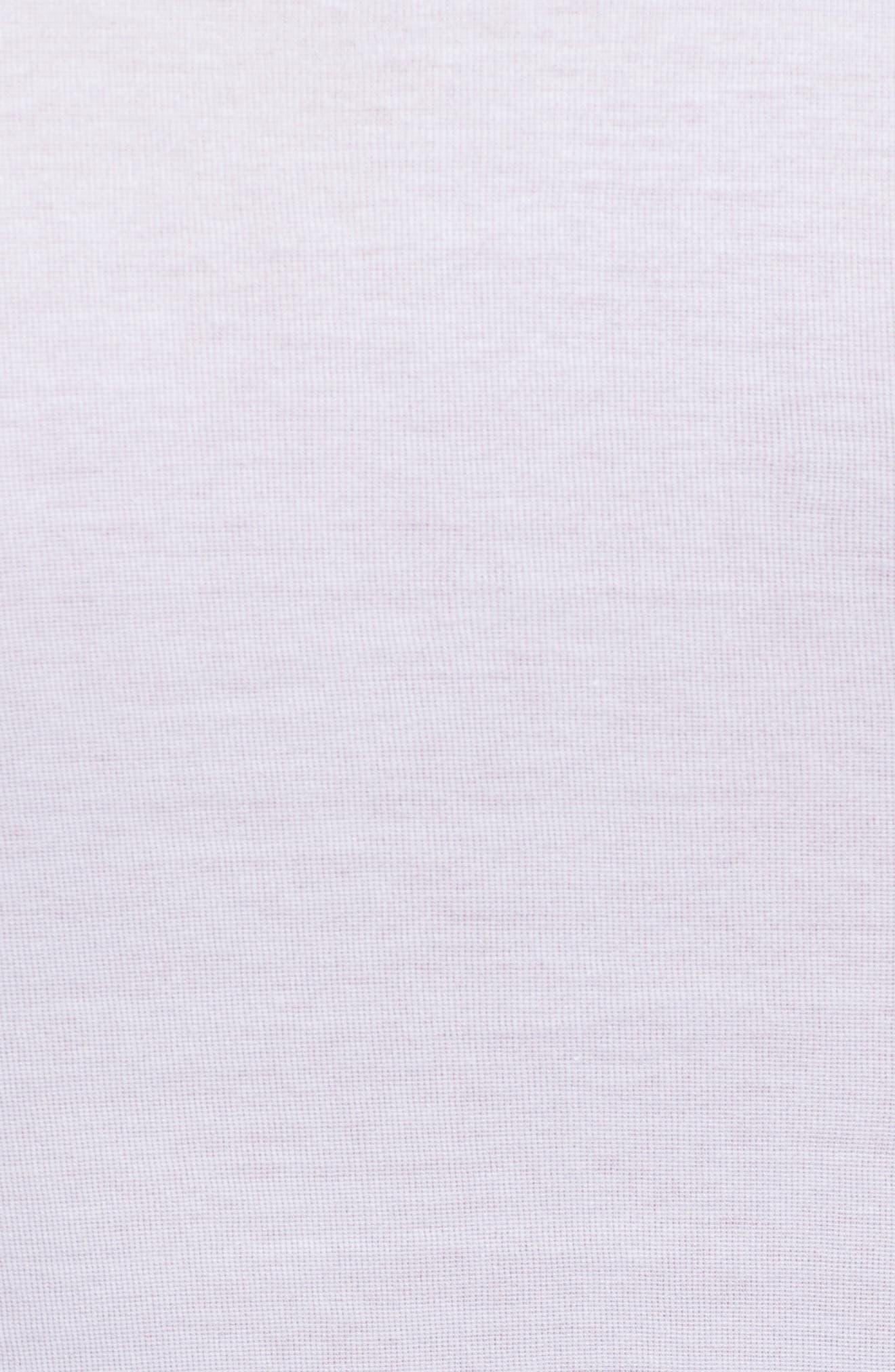 Cotton Pure Crewneck T-Shirt,                             Alternate thumbnail 5, color,                             White