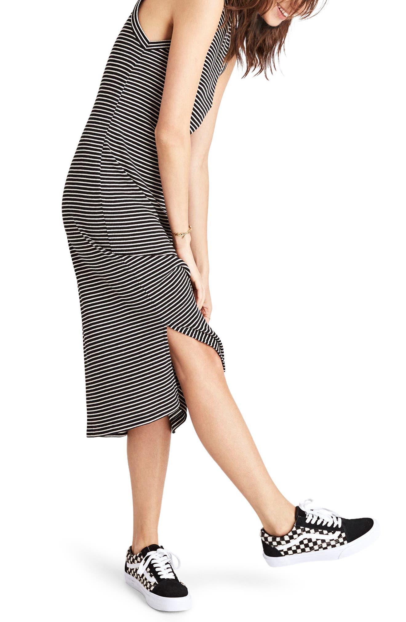 Alternate Image 3  - Madewell Ribbed Mock Neck Midi Dress
