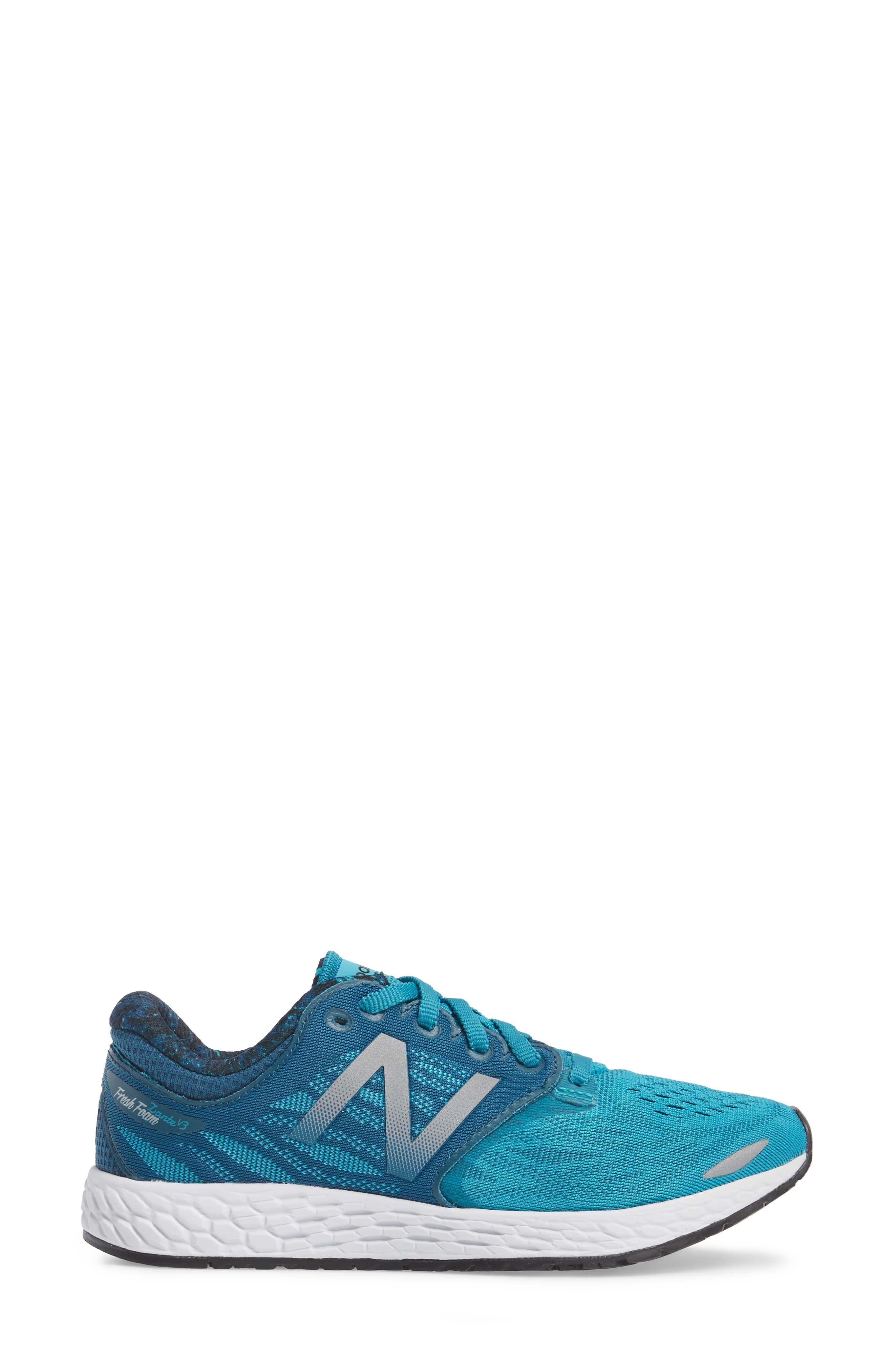 Zante V3 Running Shoe,                             Alternate thumbnail 3, color,                             Pisces