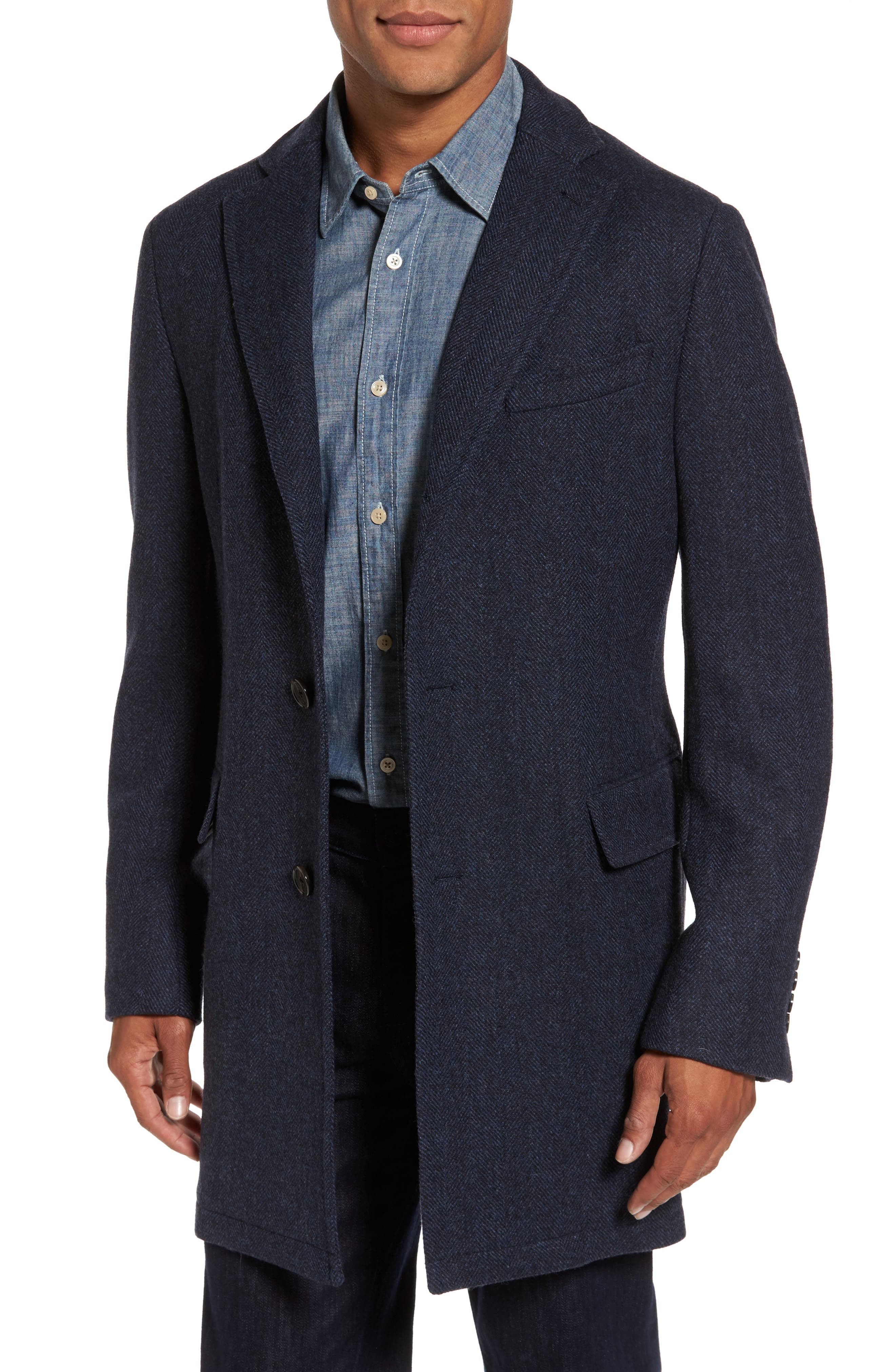 Alternate Image 4  - Cardinal of Canada Hooded Wool & Cashmere Topcoat
