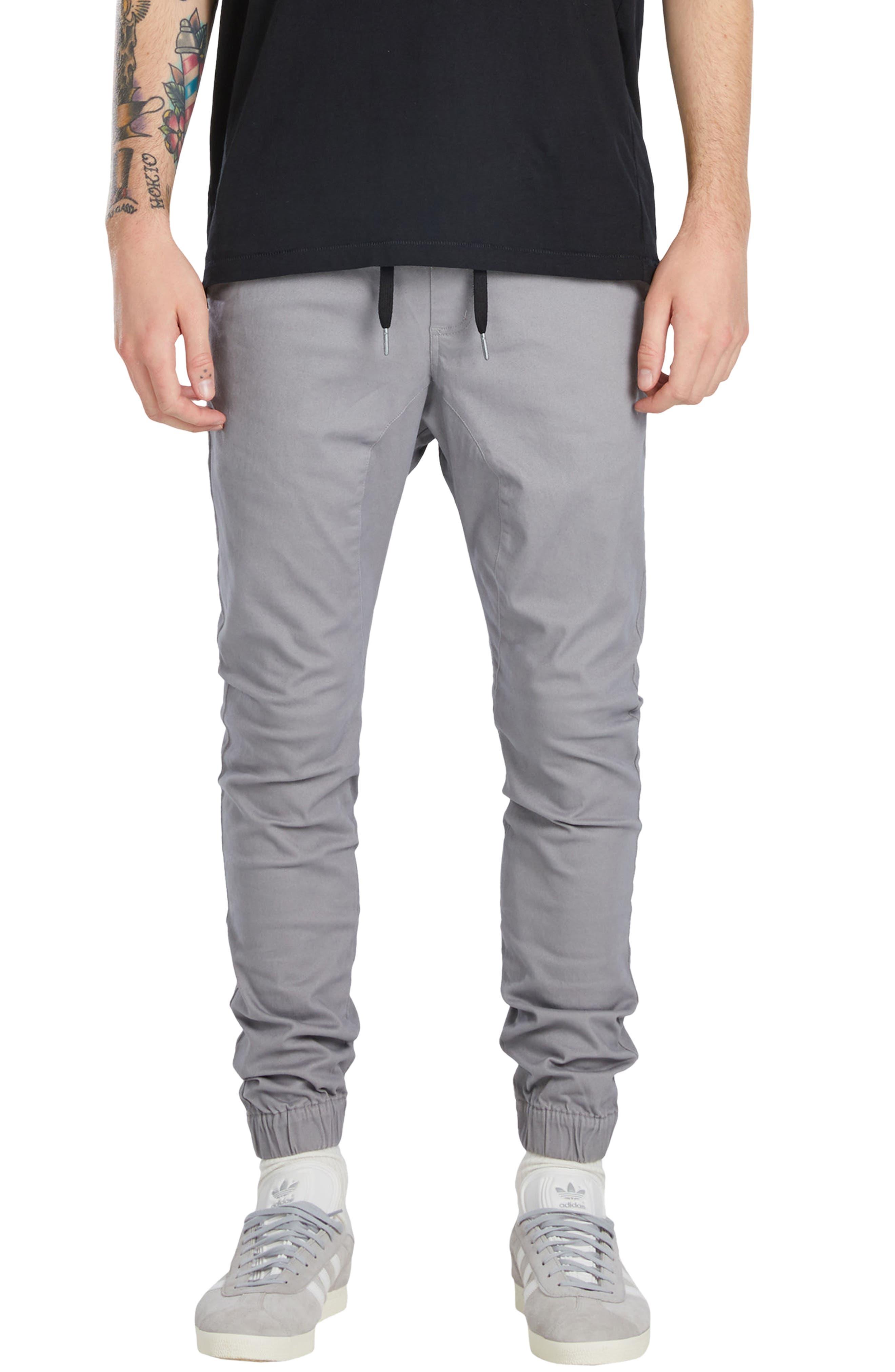 Sureshot Jogger Pants,                         Main,                         color, Cement