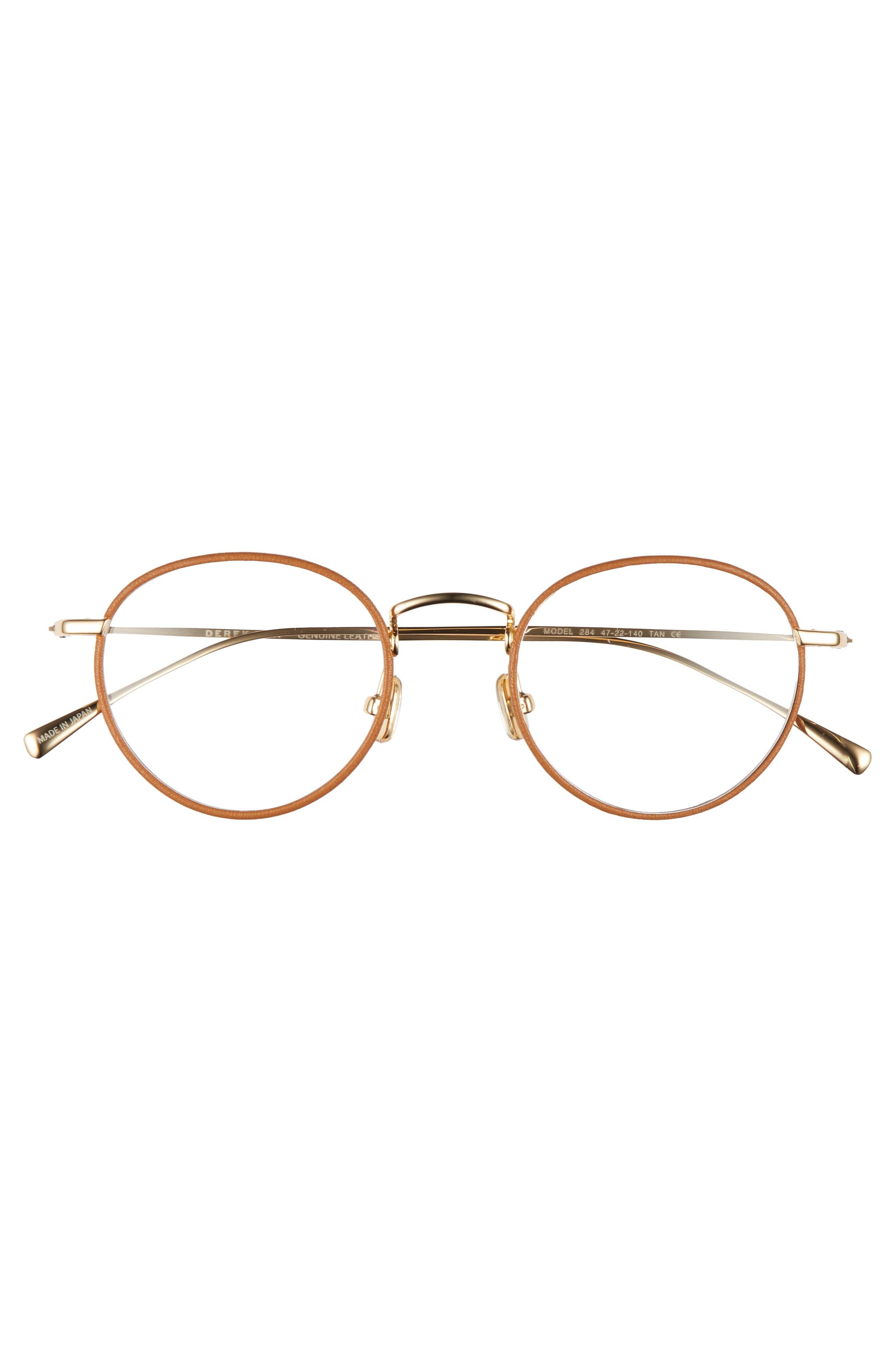 47mm Optical Glasses,                             Alternate thumbnail 3, color,                             Tan