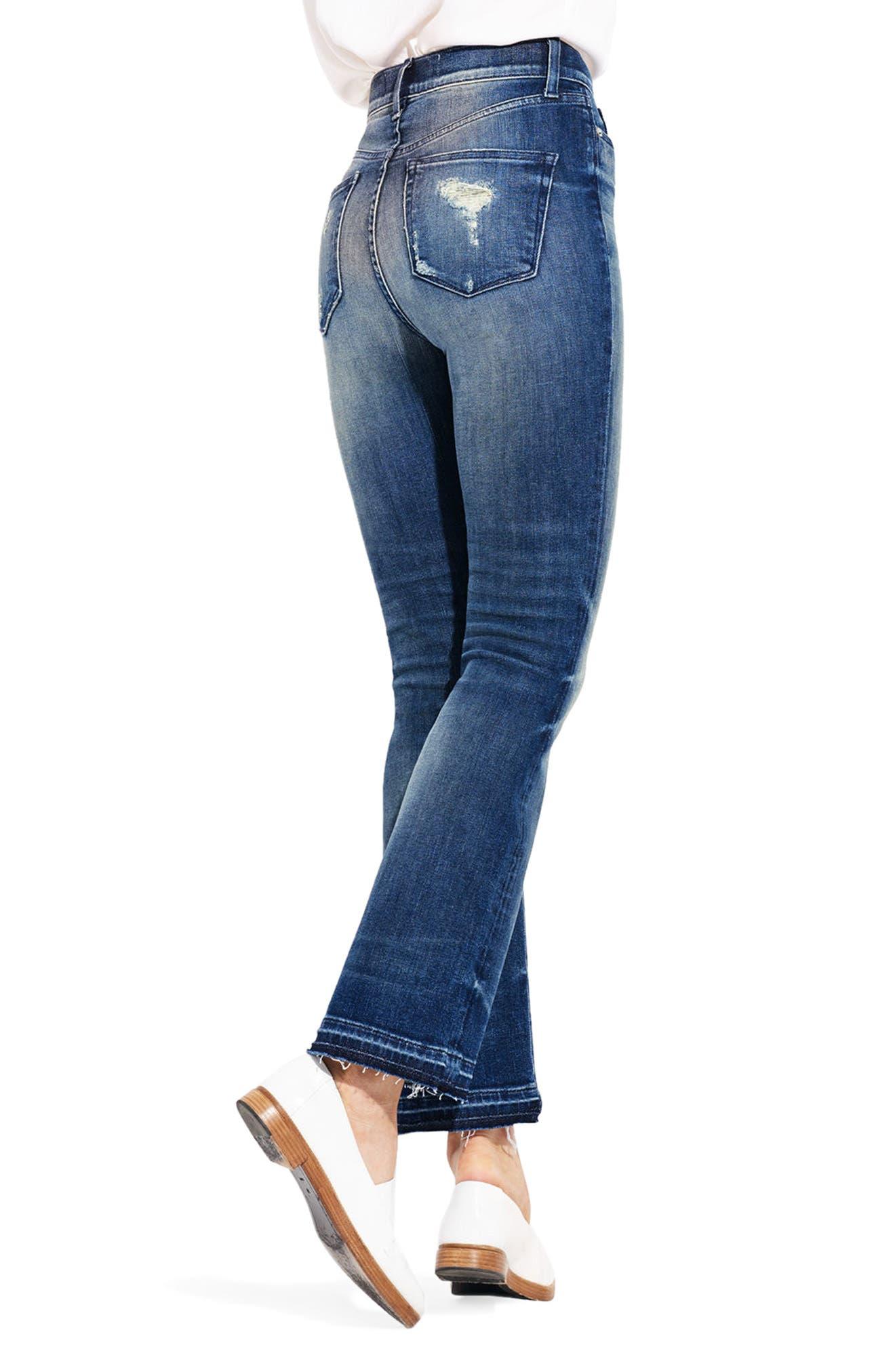 Alternate Image 2  - AYR The Superba Straight Leg Ankle Jeans (Cobra)