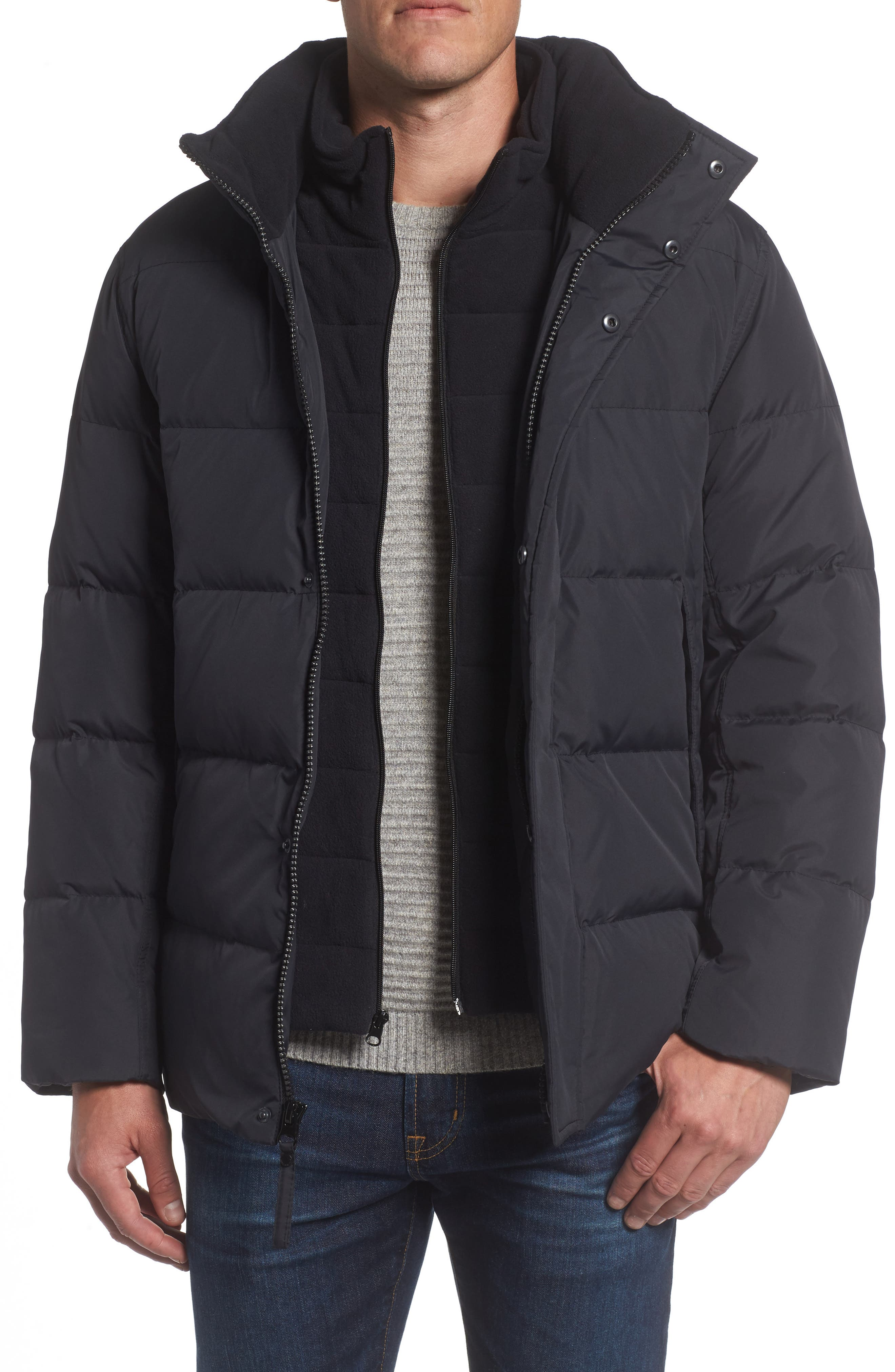 Andrew Marc Carlton Quilted Parka