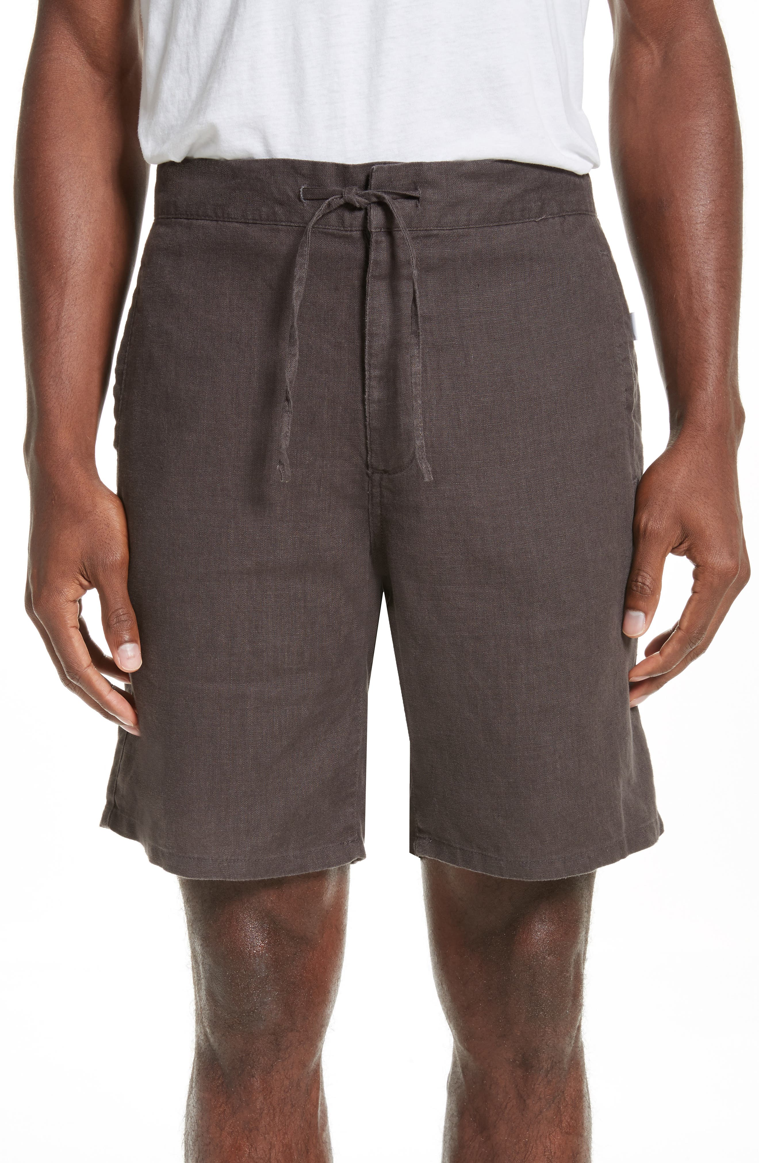 Alternate Image 1 Selected - ONIA Max Linen Shorts