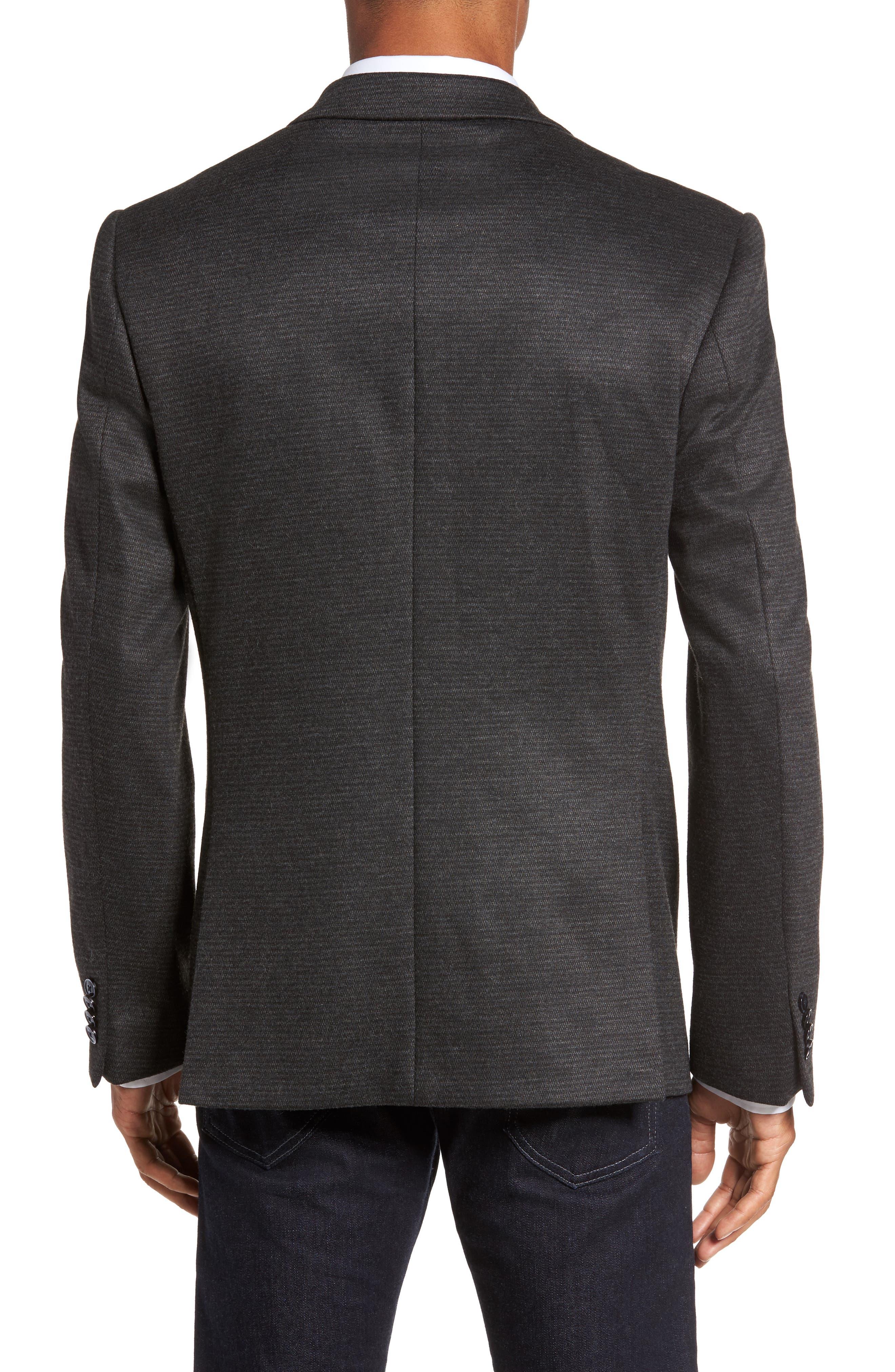 Alternate Image 2  - JKT New York Trim Fit Solid Sport Coat