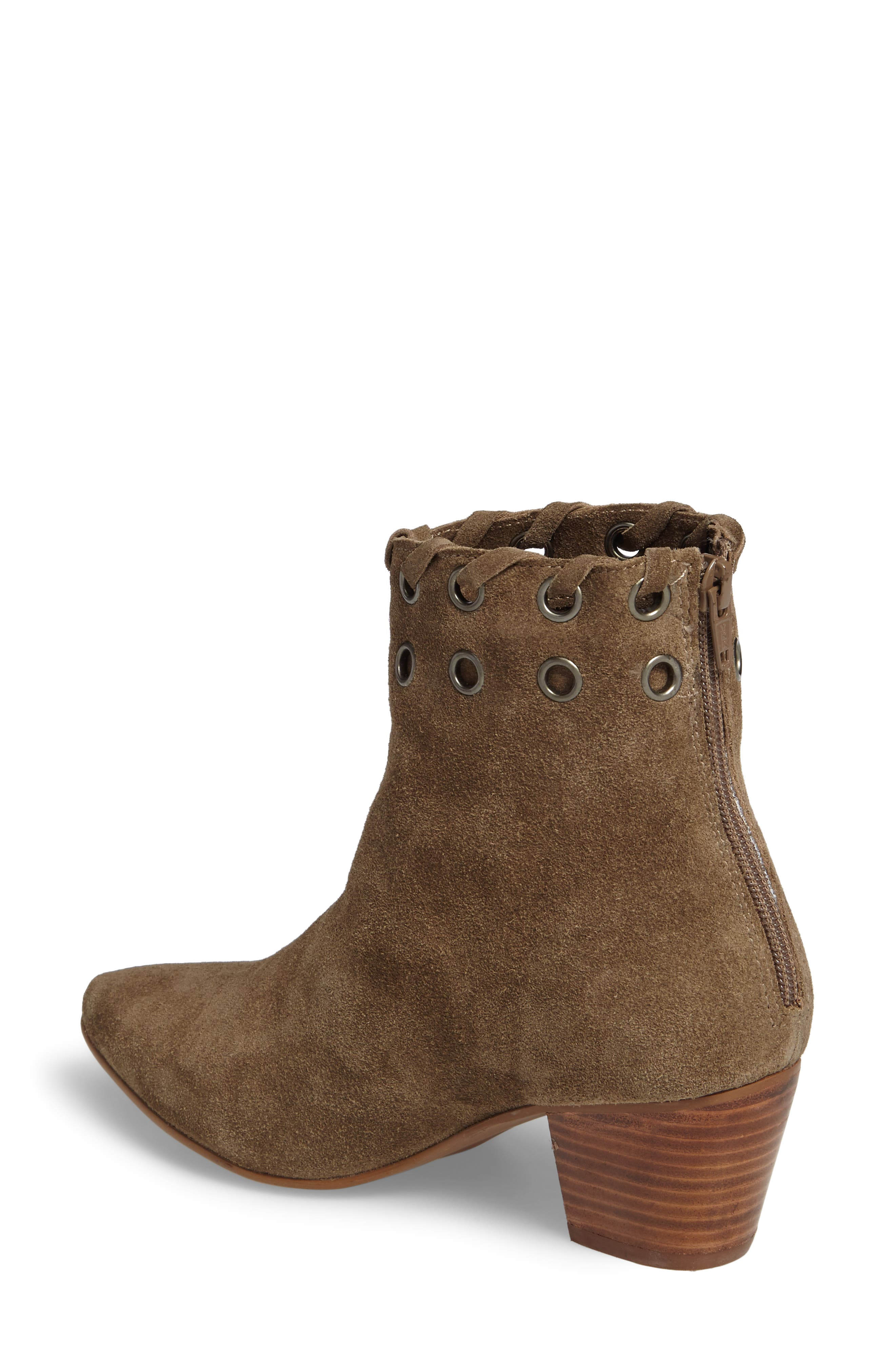 Wildcat Bootie,                             Alternate thumbnail 2, color,                             Taupe Suede