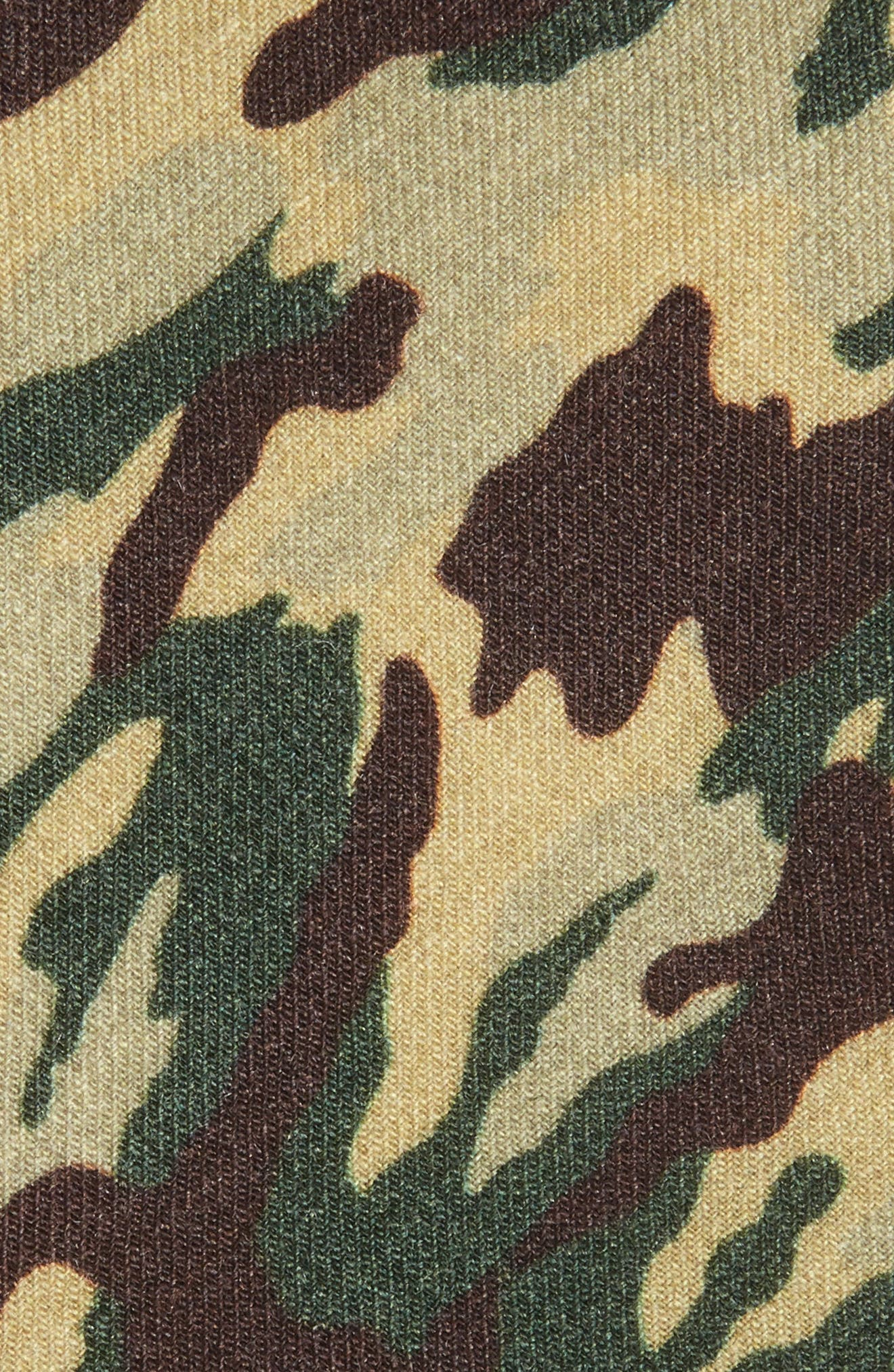 Camo Print Wool Tie,                             Alternate thumbnail 2, color,                             Camouflage