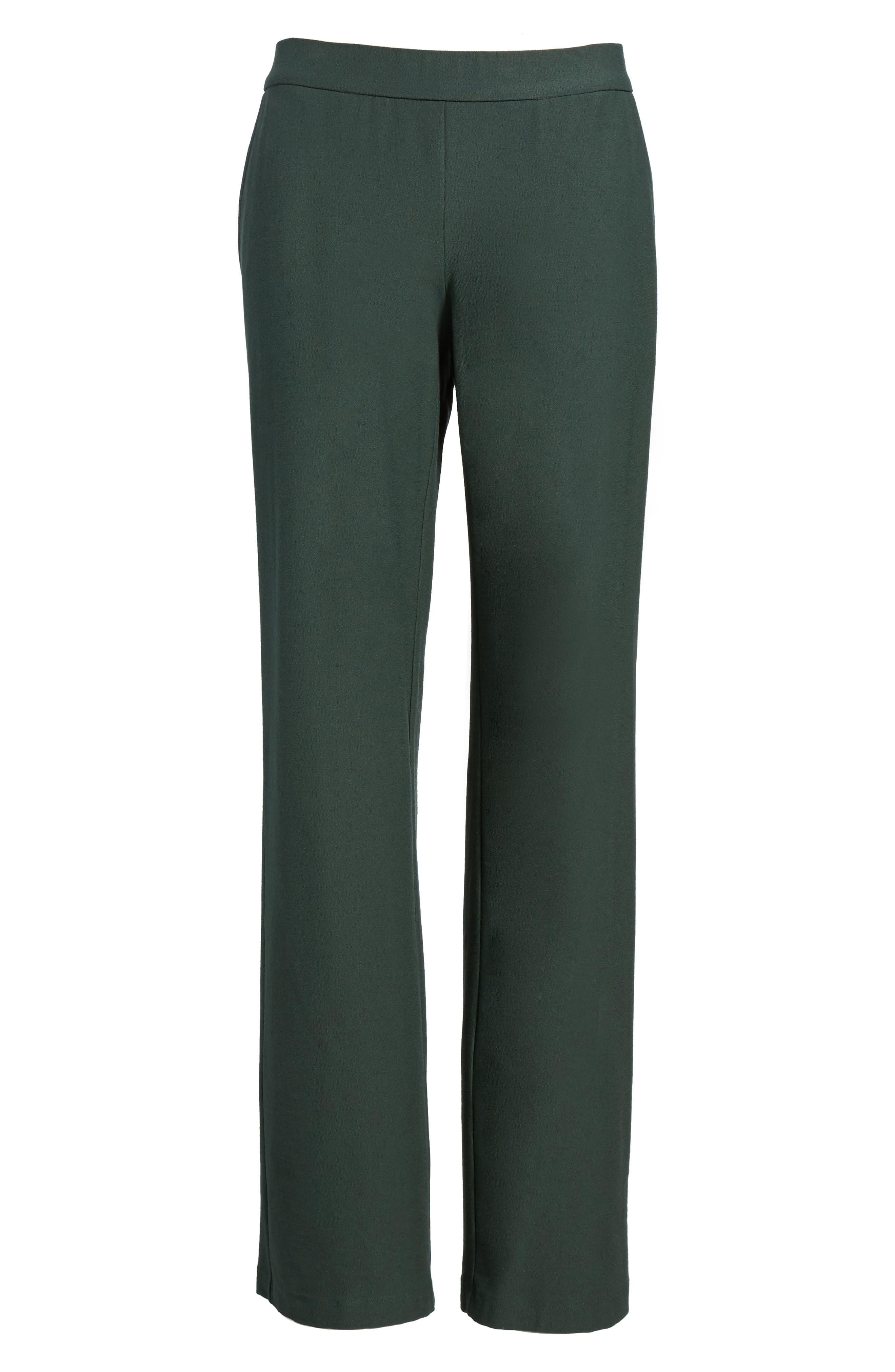 Alternate Image 6  - Eileen Fisher Straight Leg Pants