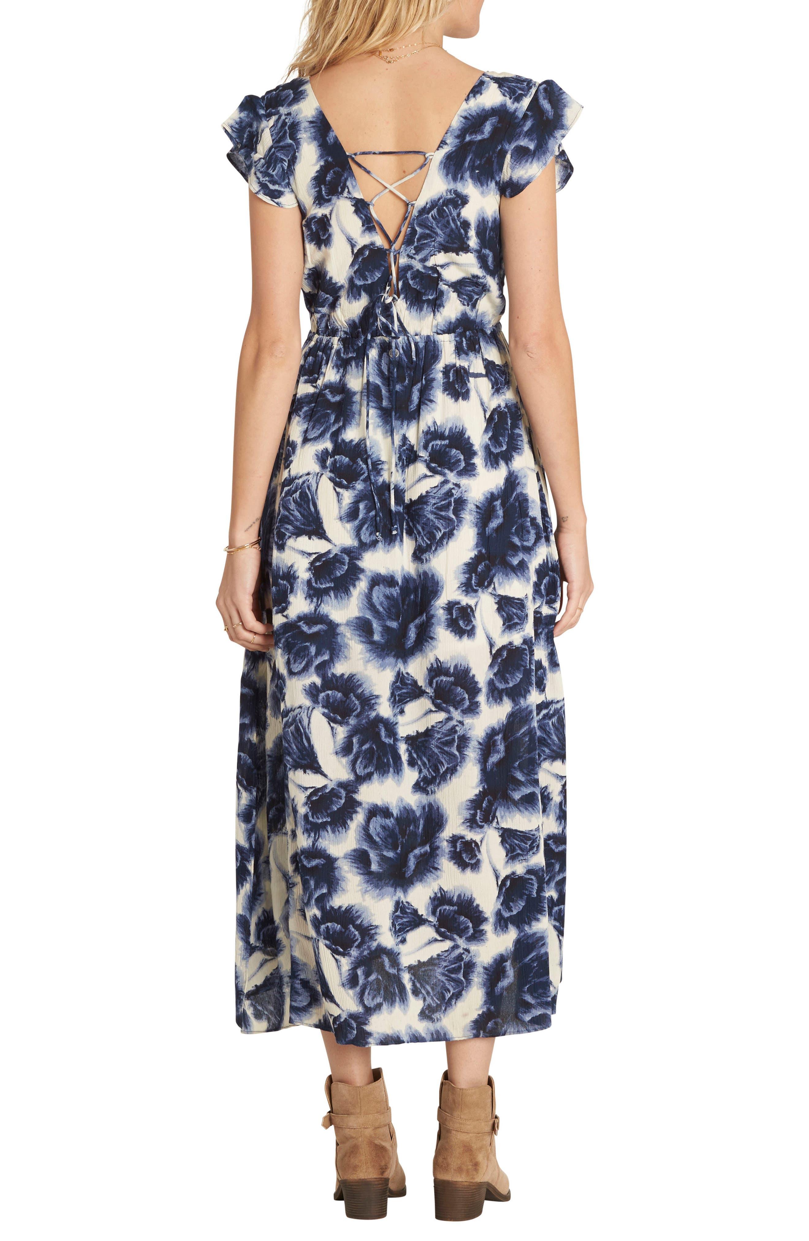 Alternate Image 2  - Billabong Don't Mess Floral Print Dress