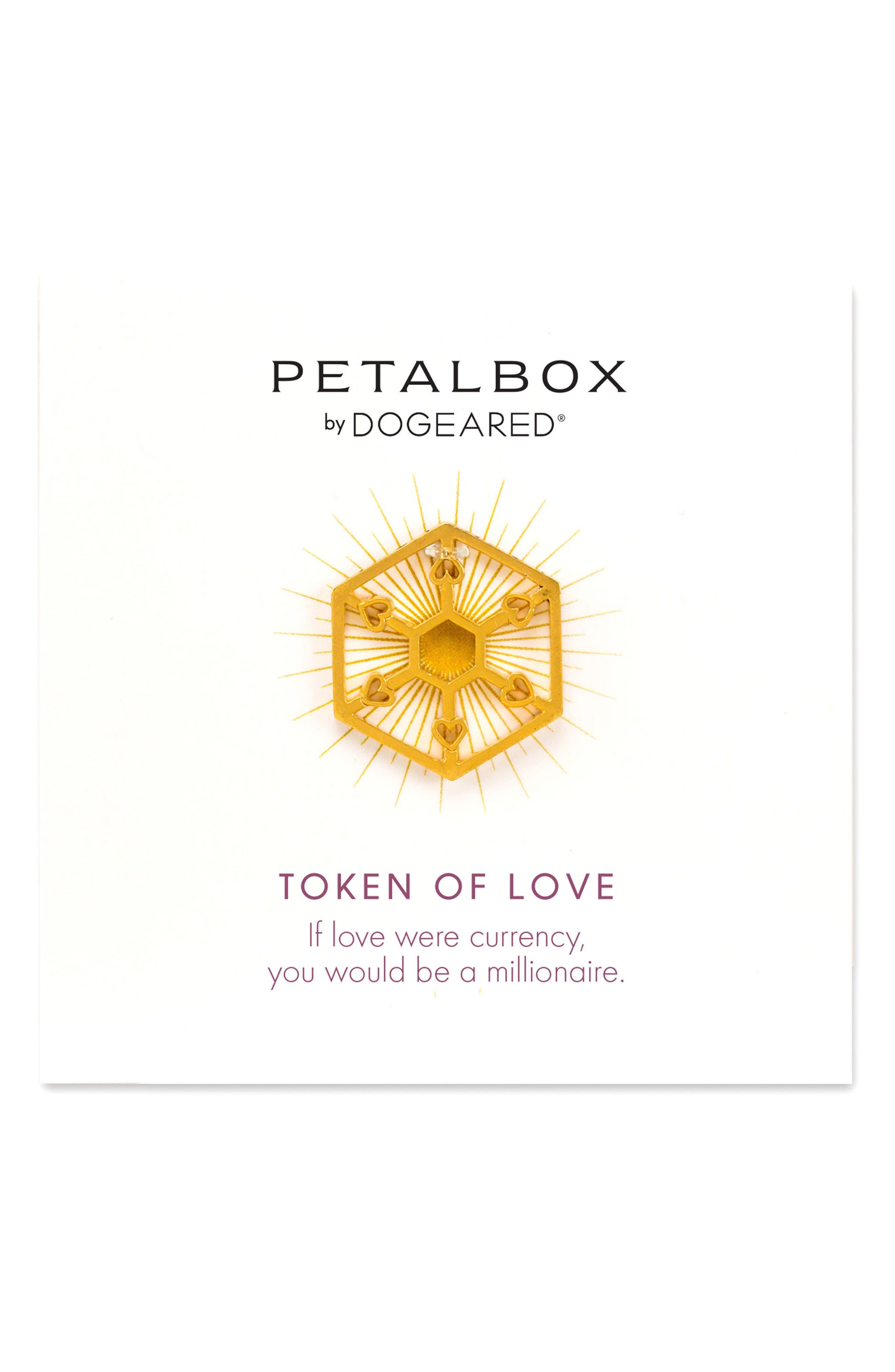 Petalbox Token of Love Enhancer,                         Main,                         color, Gold