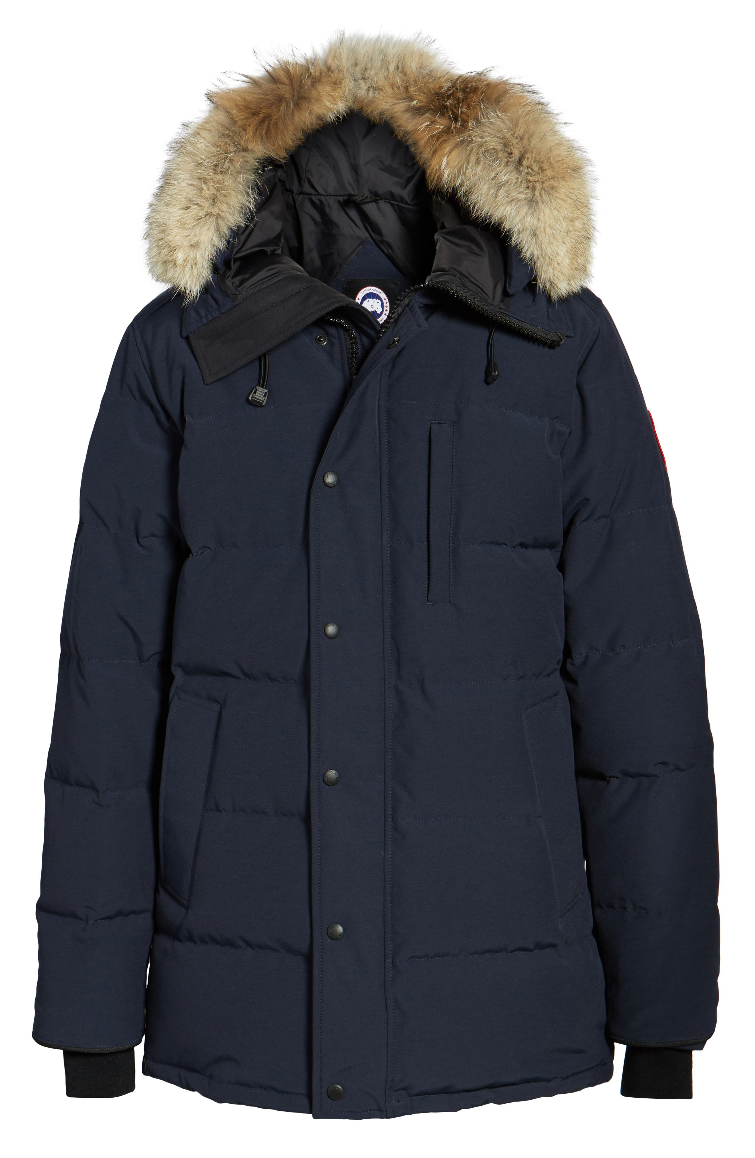 Alternate Image 5  - Canada Goose 'Carson' Slim Fit Hooded Packable Parka with Genuine Coyote Fur Trim