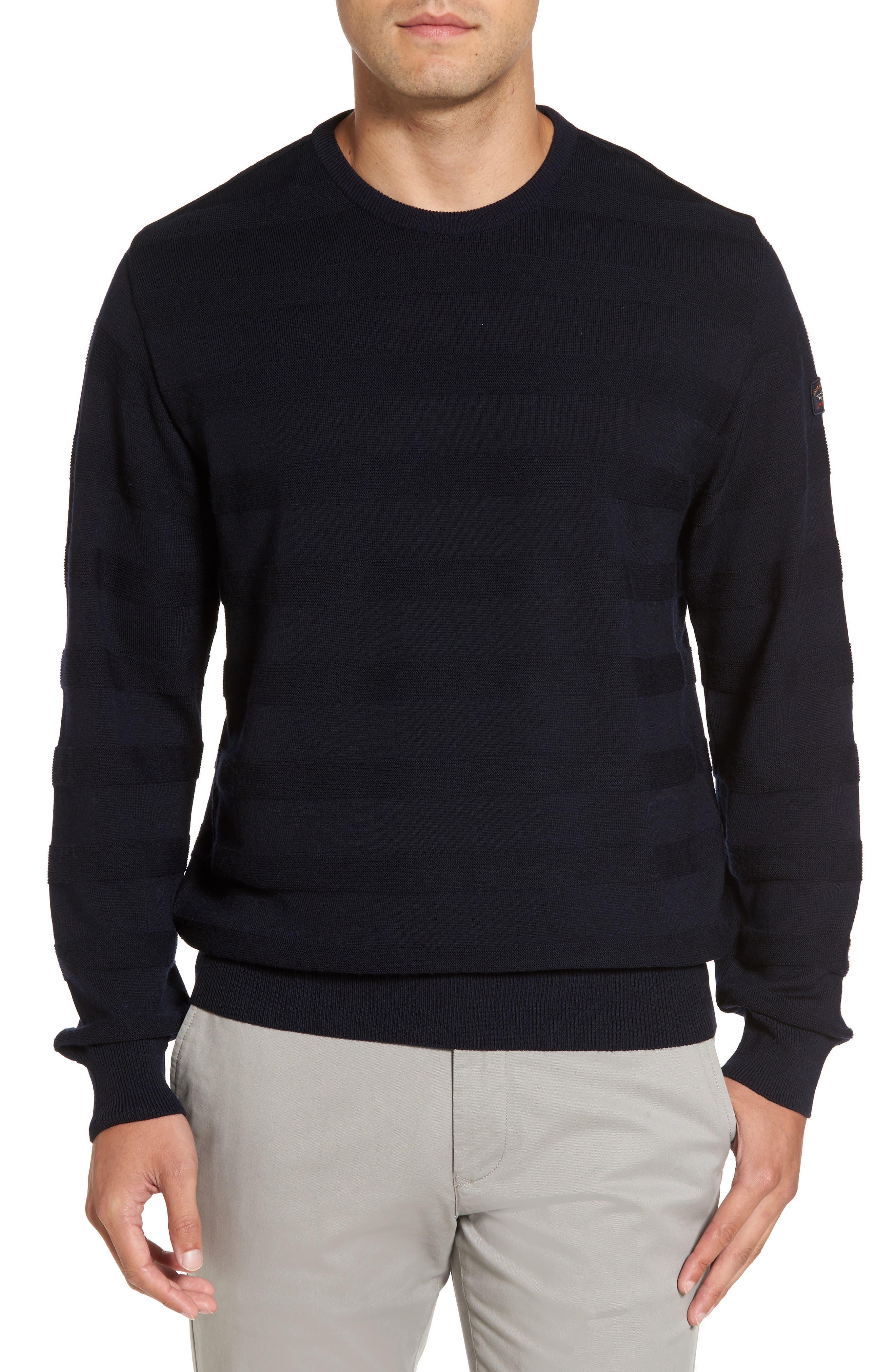 Paul & Shark Stripe Knit Wool Sweater