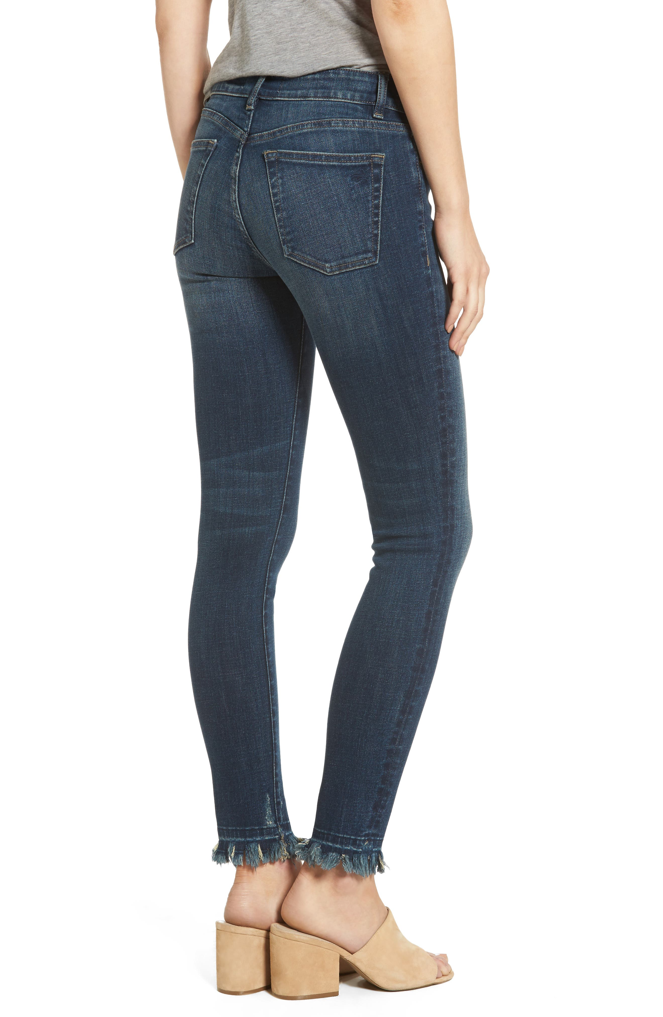 Margaux Instasculpt Ankle Skinny Jeans,                             Alternate thumbnail 2, color,                             Harlow