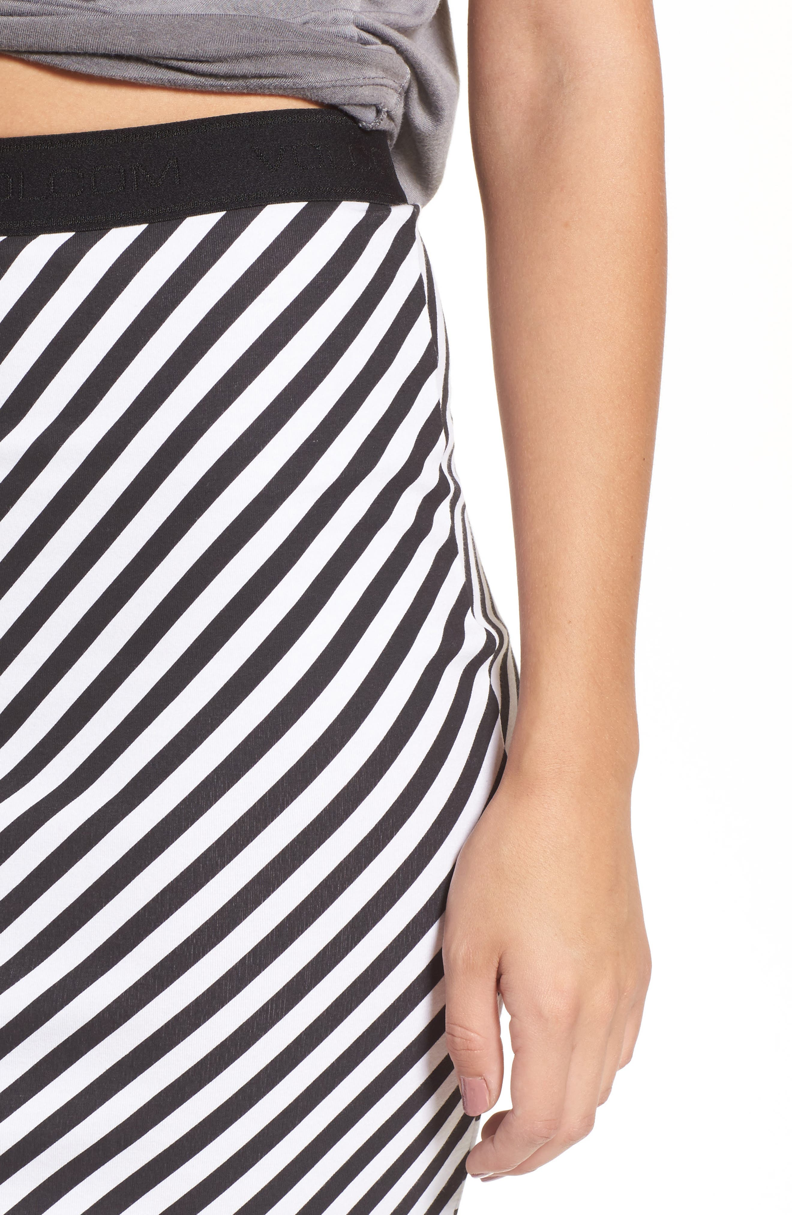Alternate Image 4  - Volcom Futures Past Stripe Skirt