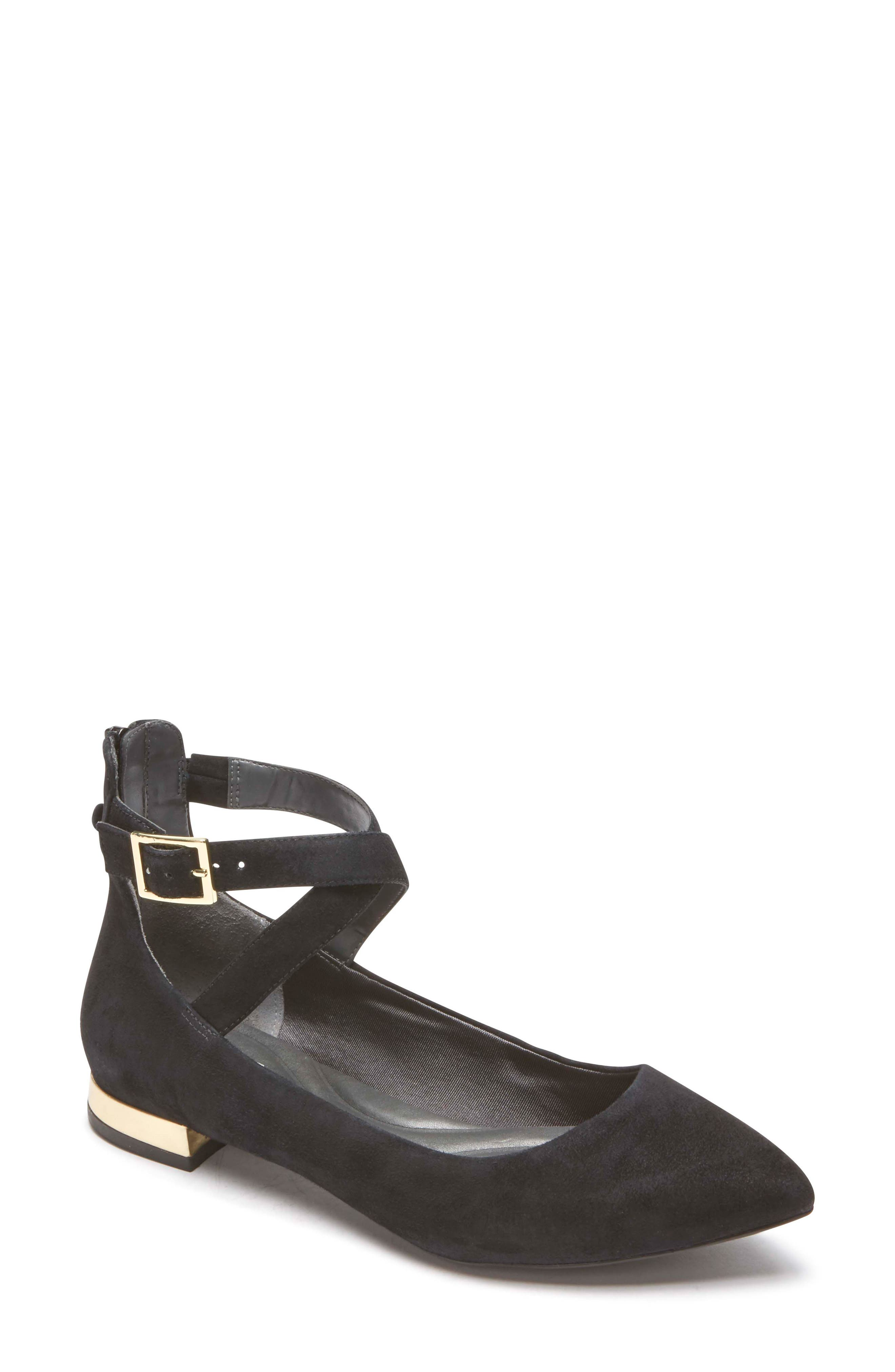 Alternate Image 1 Selected - Rockport Total Motion® Zuly Luxe Cross Strap Flat (Women)