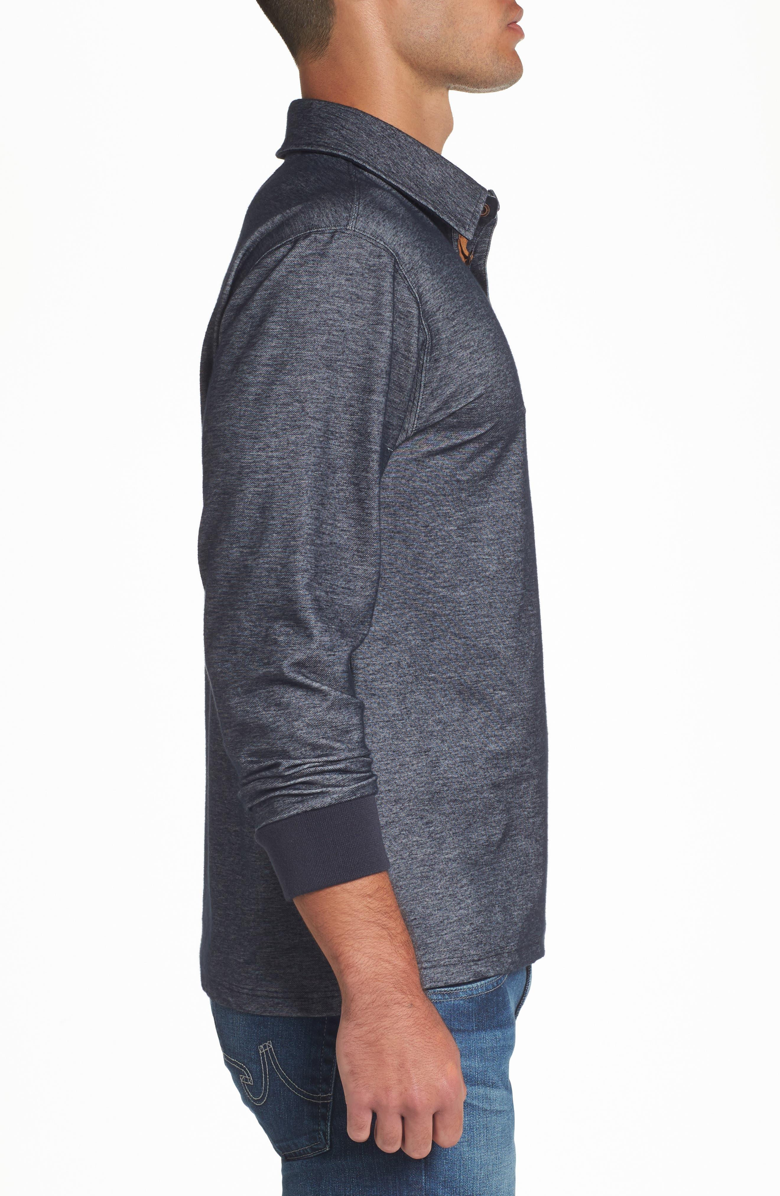 Alternate Image 3  - Nifty Genius Nicolas Long Sleeve Polo