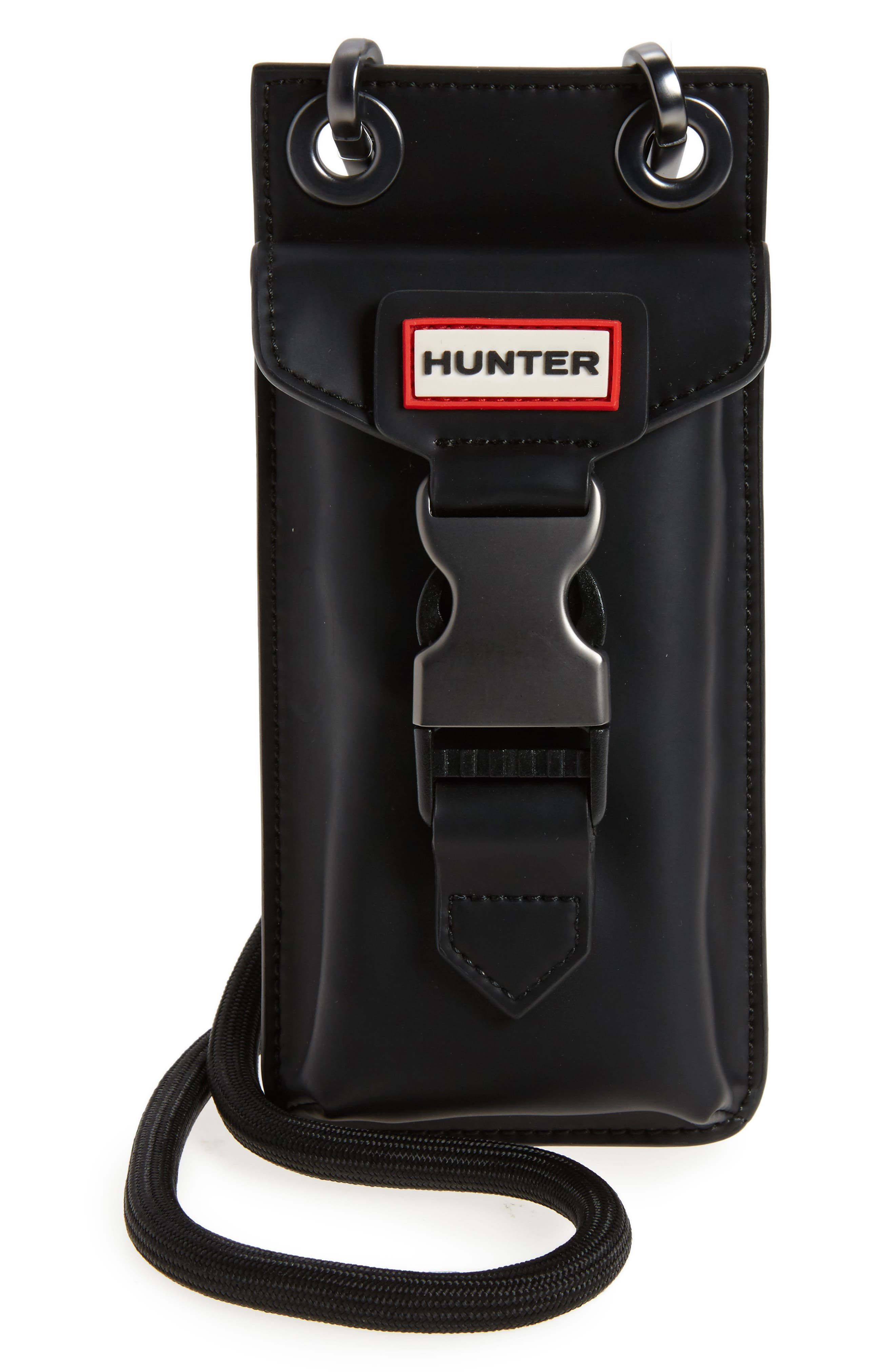 Hunter Original Rubberized Leather Phone Pouch